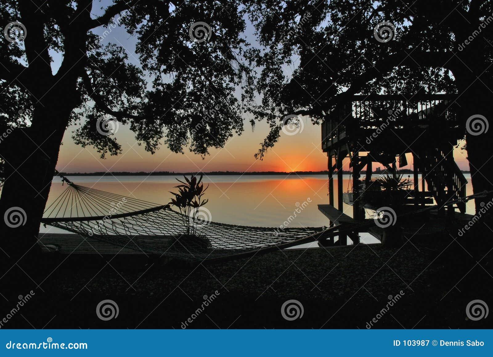 Lazy River Sunset