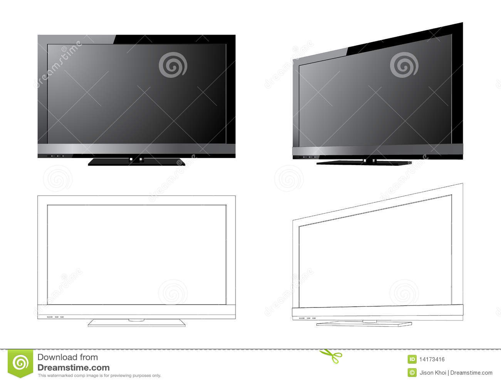 LCD-FERNSEHAPPARAT