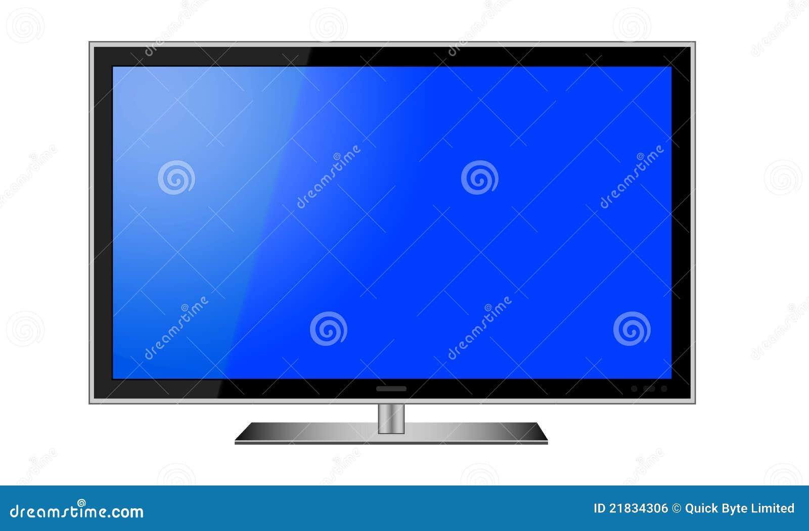Lcd-Fernsehvektor