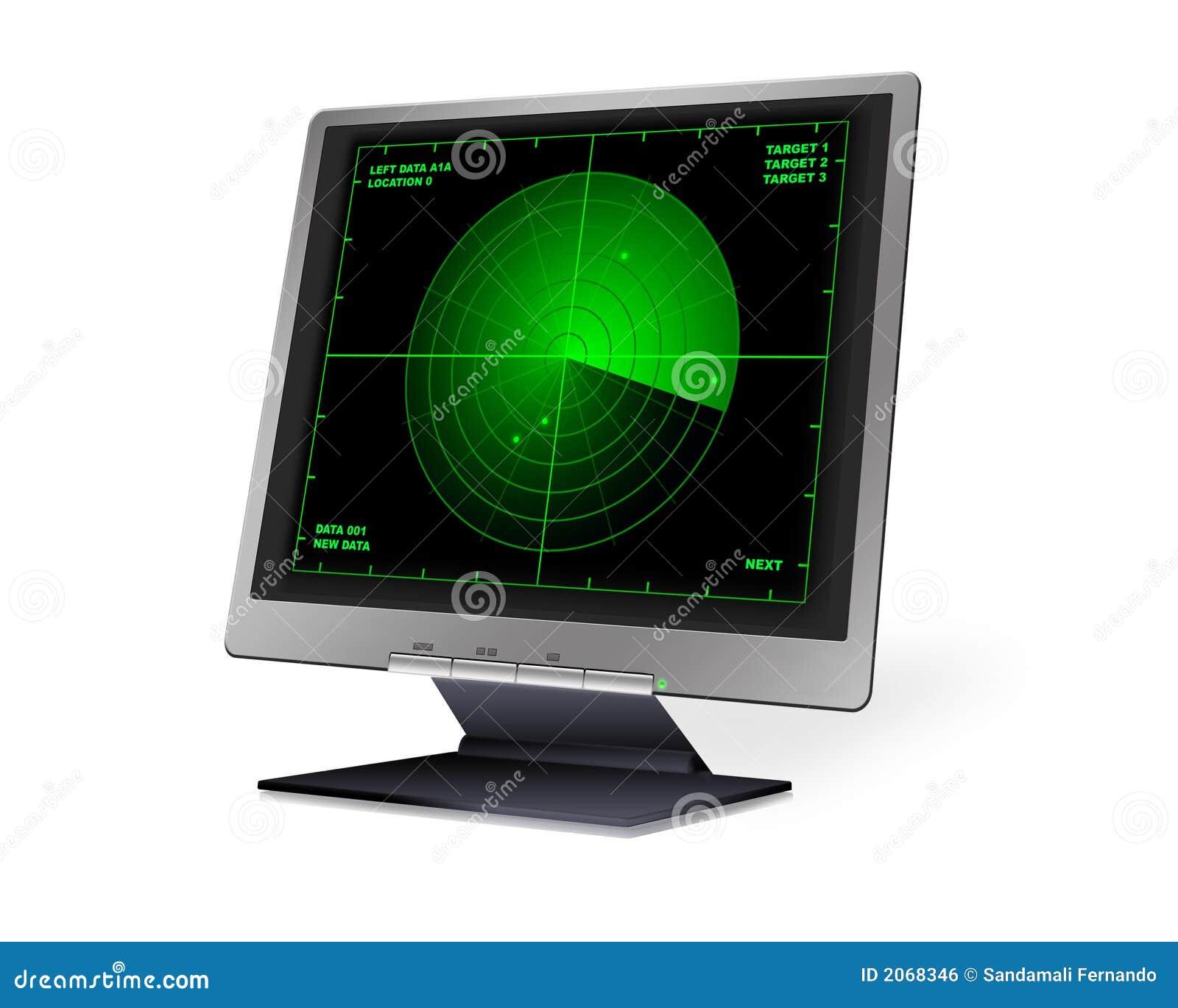 LCD met Radar