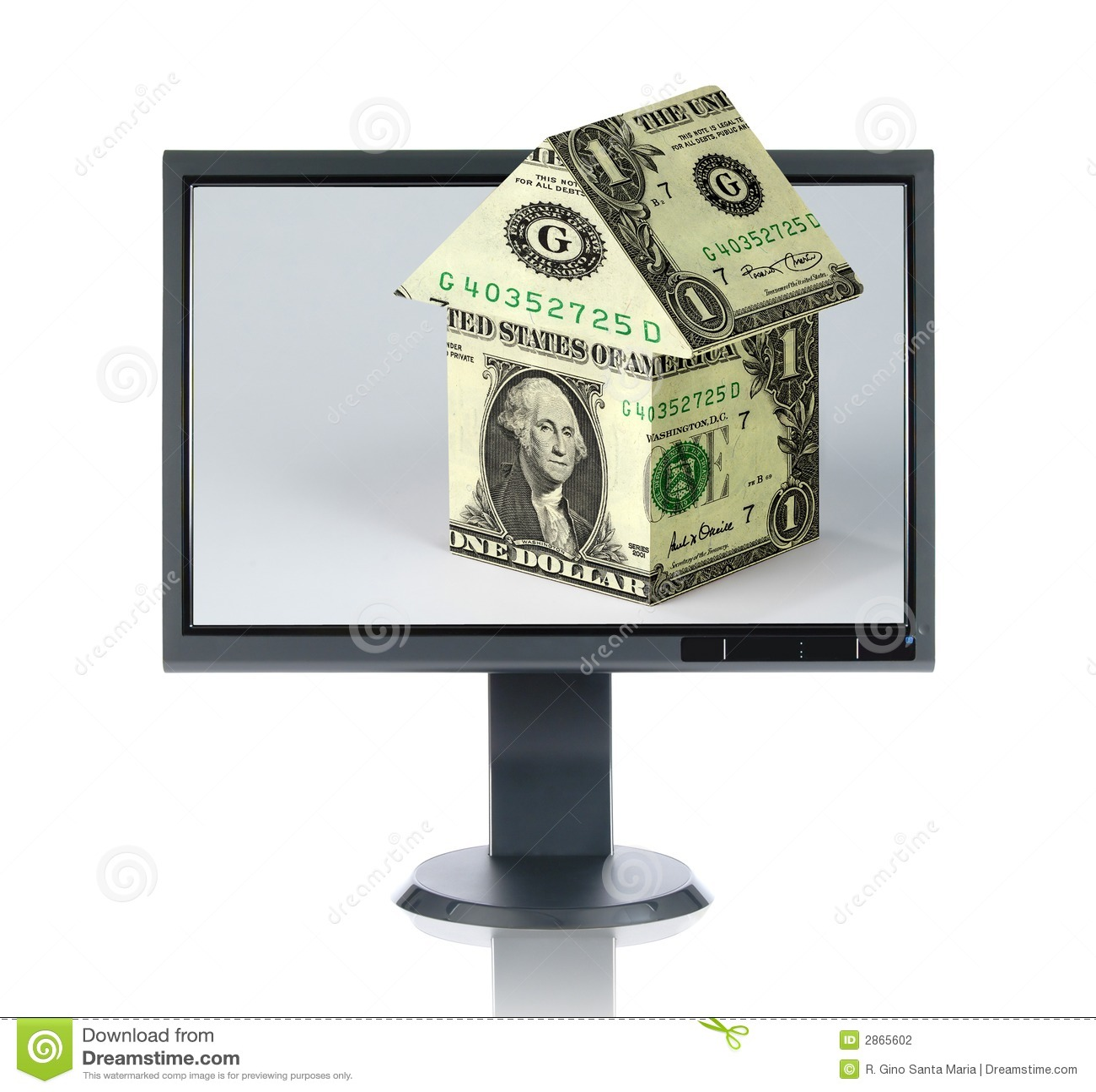 LCD Monitor en Huisvesting