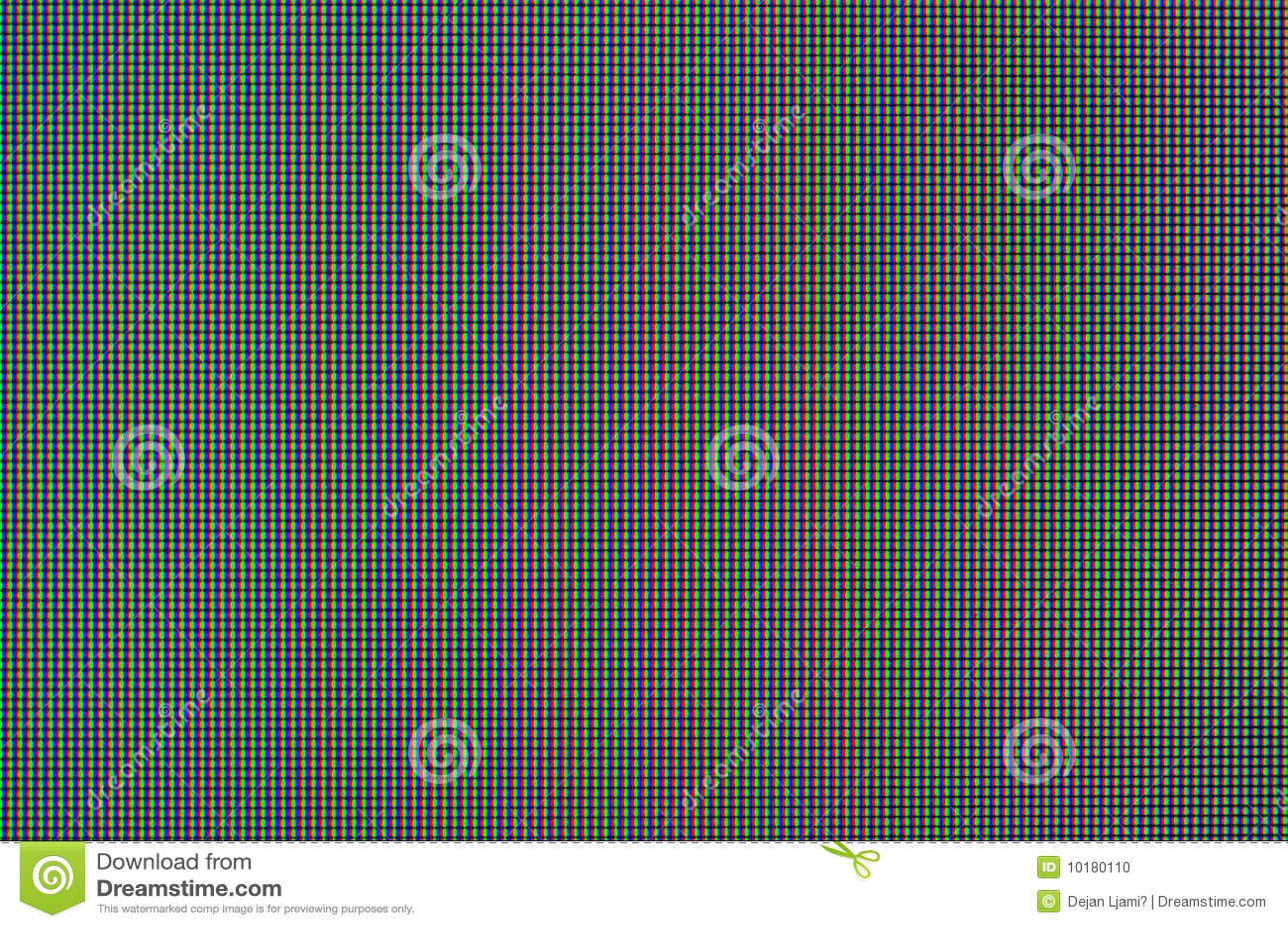 LCD Texture - RGB Dots Stock Photo - Image: 10180110