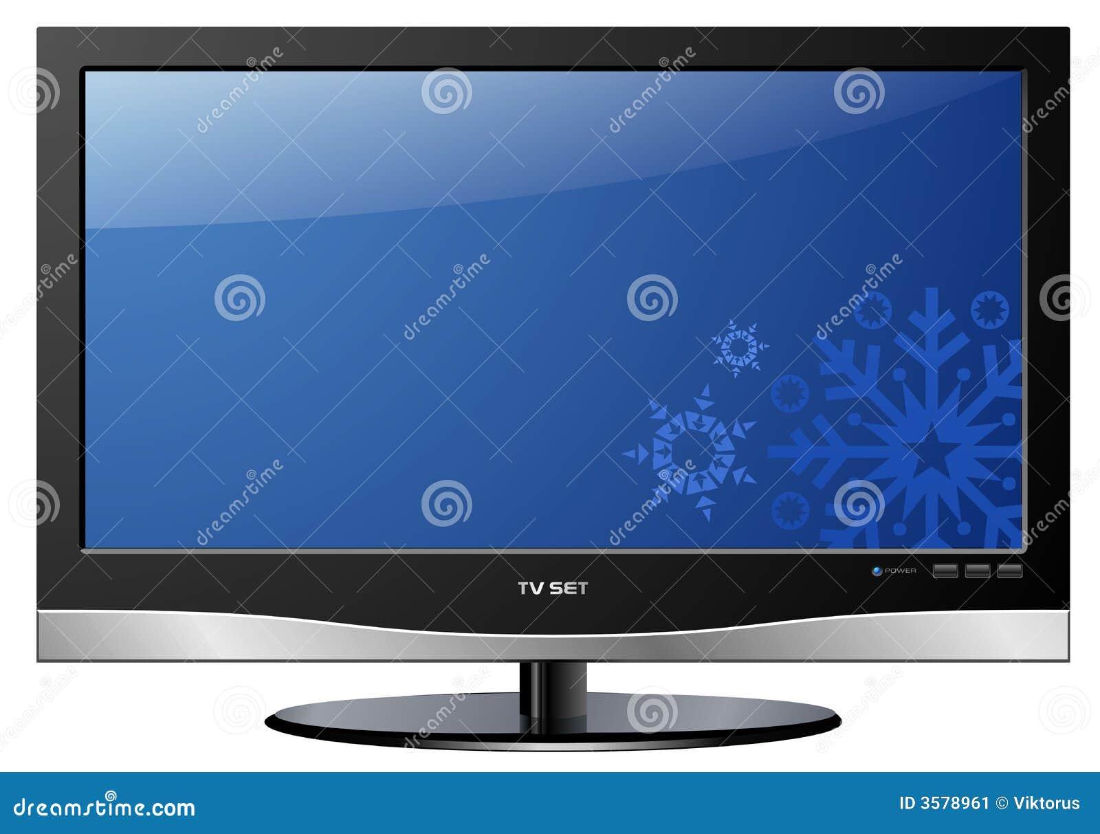 LCD TV Christmas