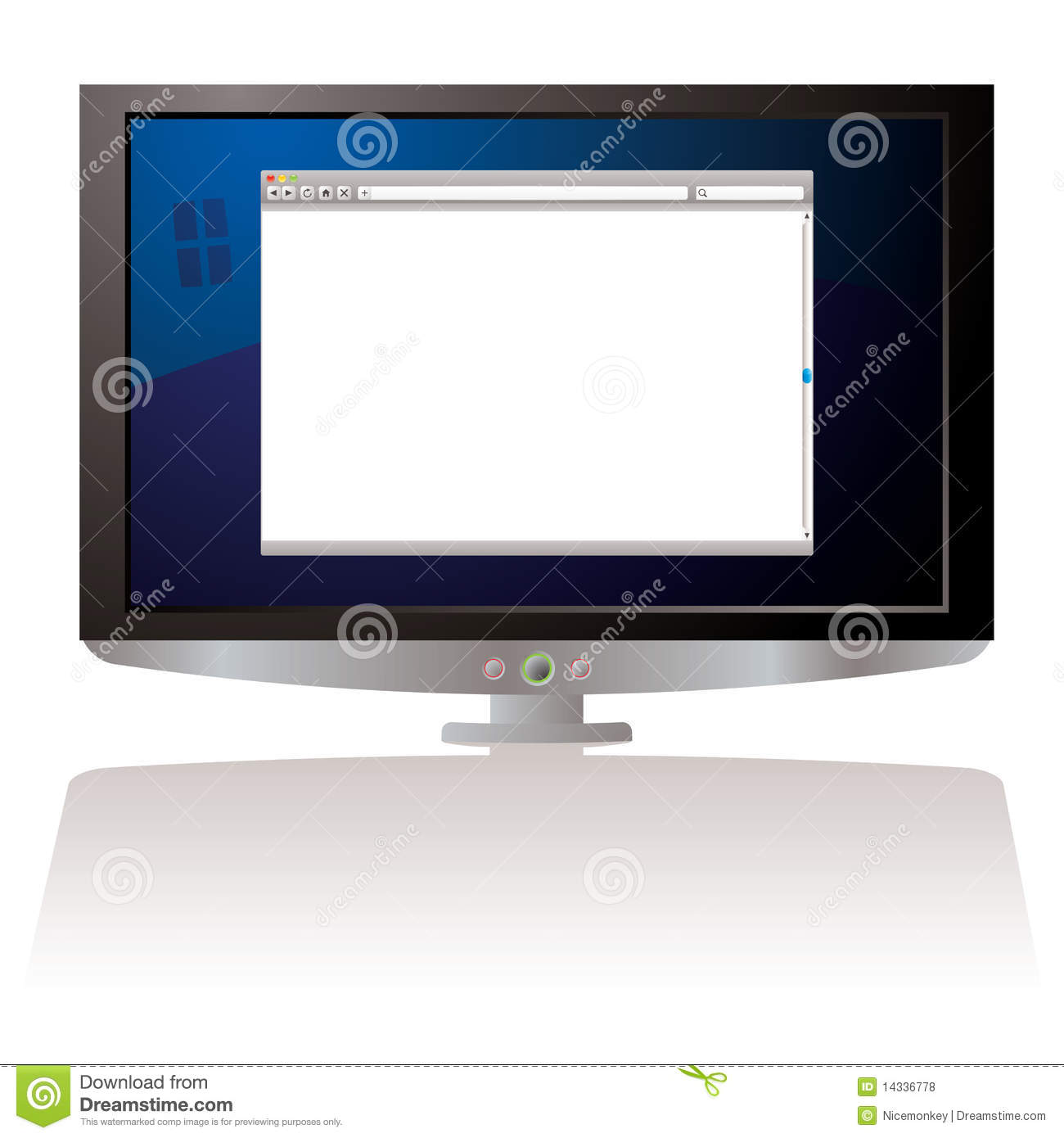 Pictures of Lcd Monitor Shadow