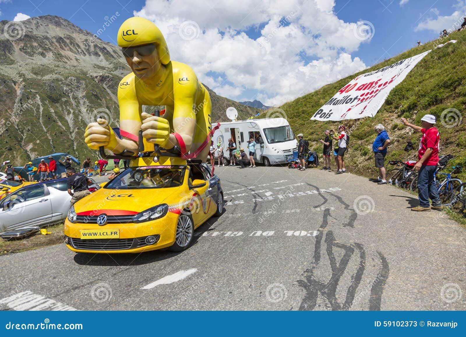LCL车在阿尔卑斯-环法自行车赛2015年