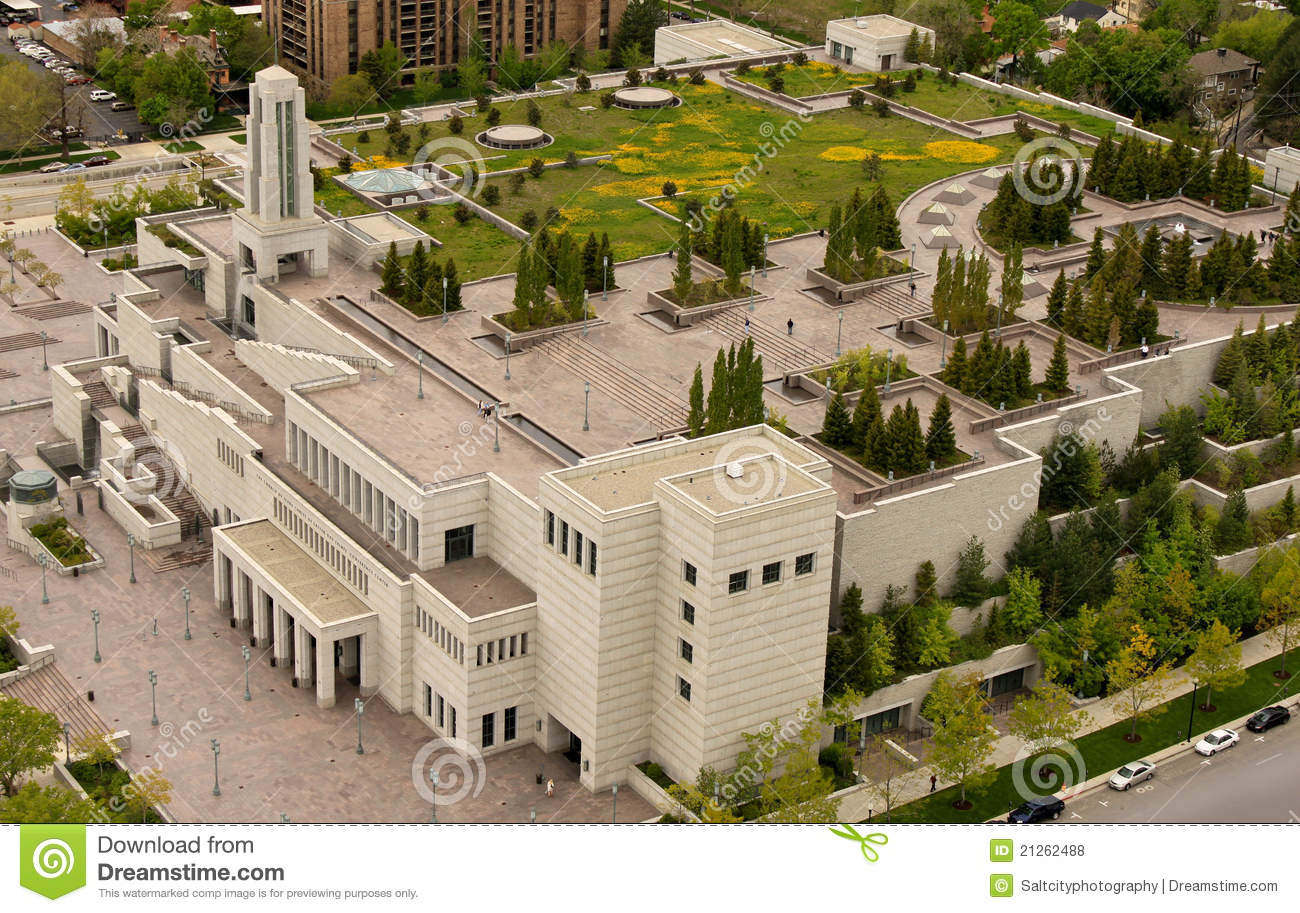 Lds Conference Center Building Royalty Free Stock Photos
