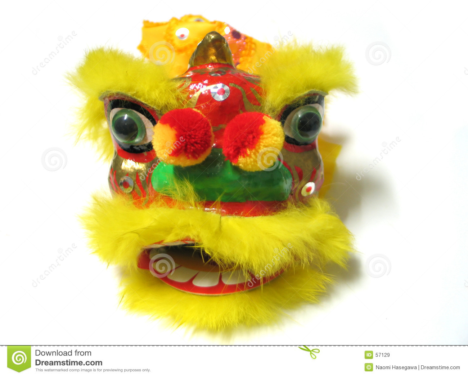 Leão chinês do ano novo