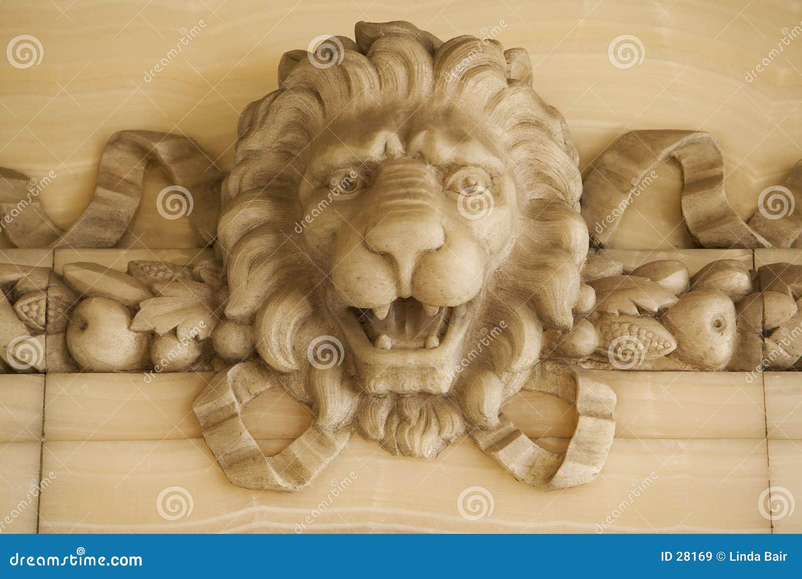 Leão de pedra