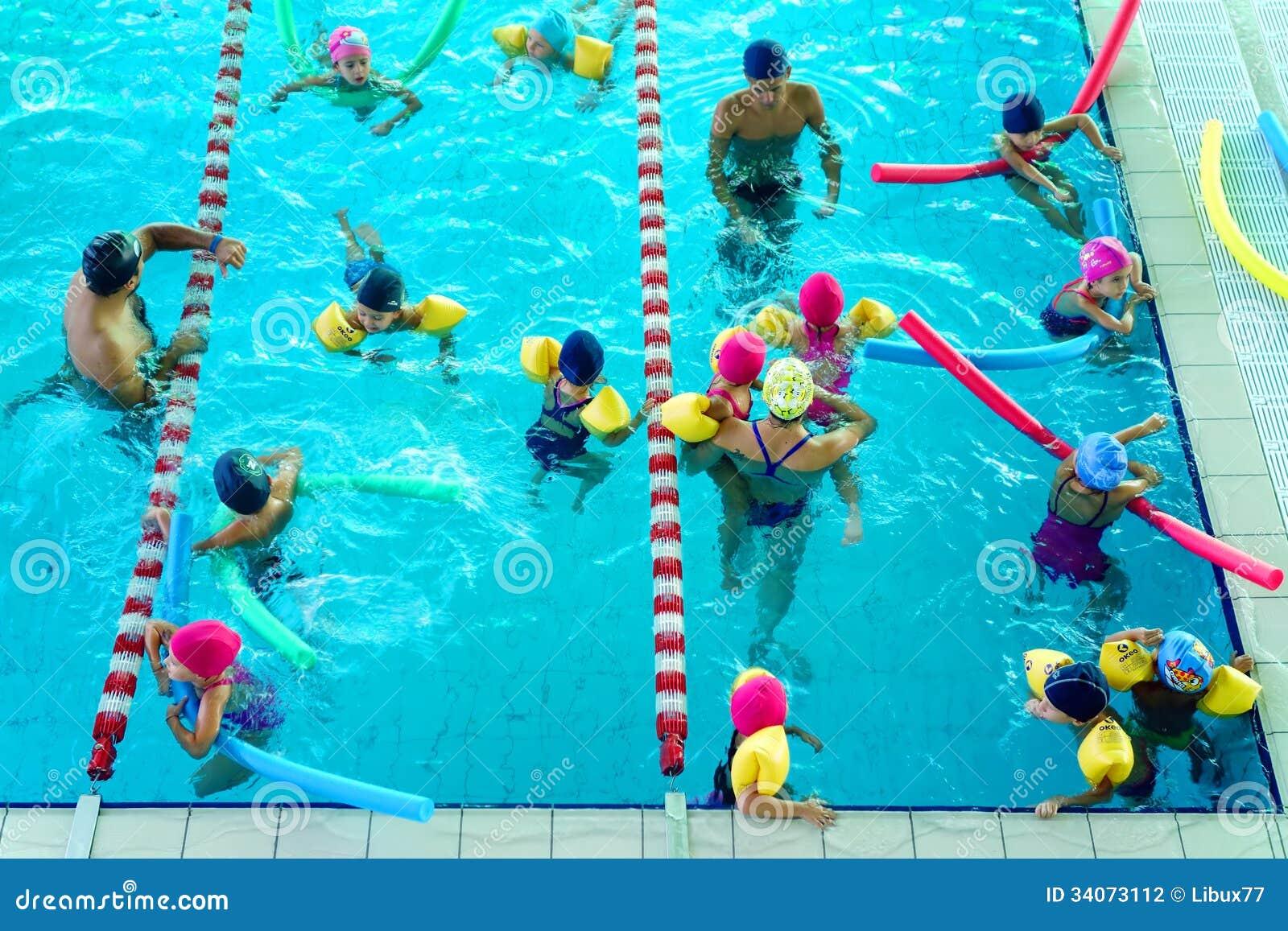 Leçon de natation