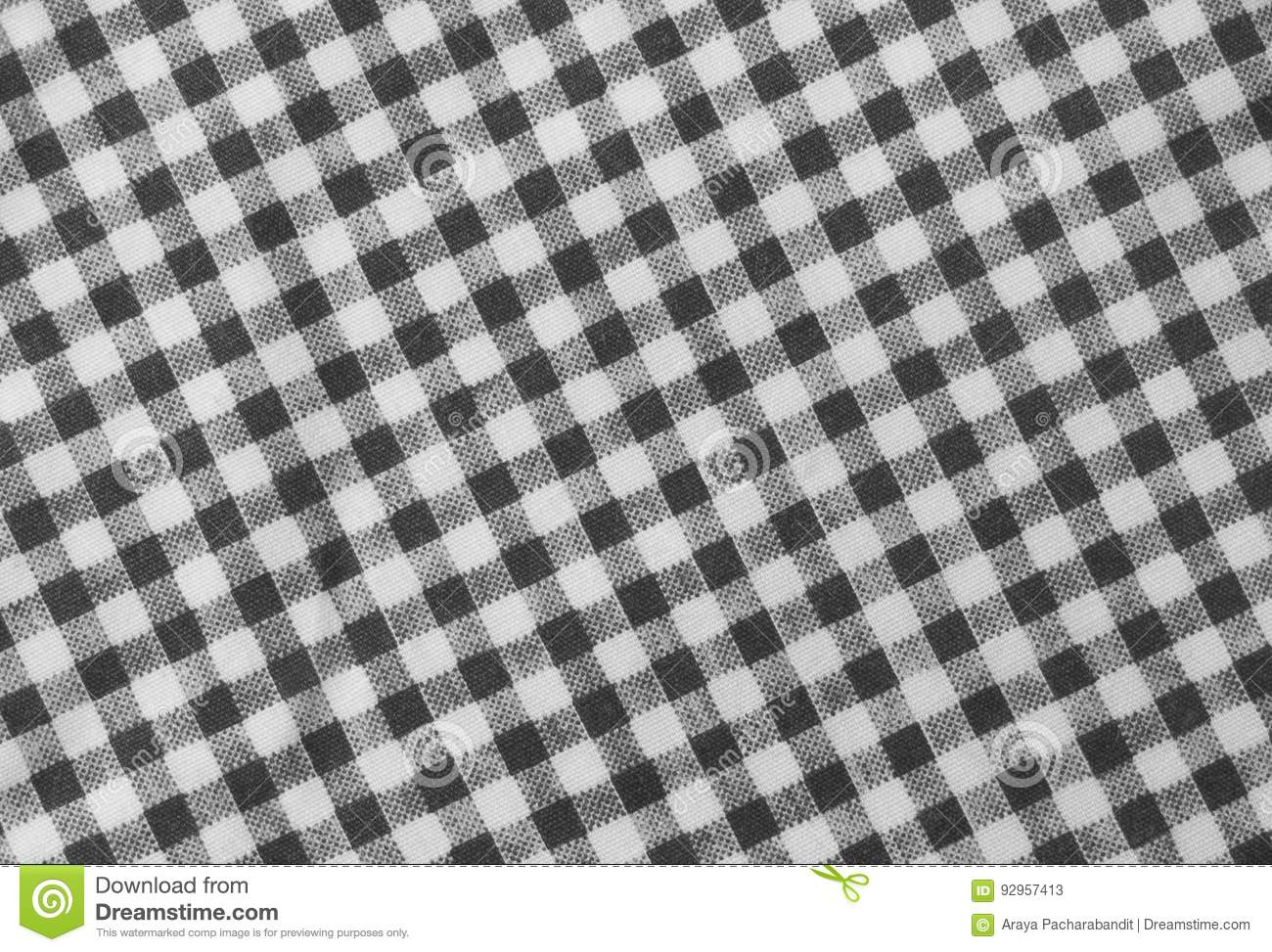 Leñador blanco y negro Plaid Seamless Pattern