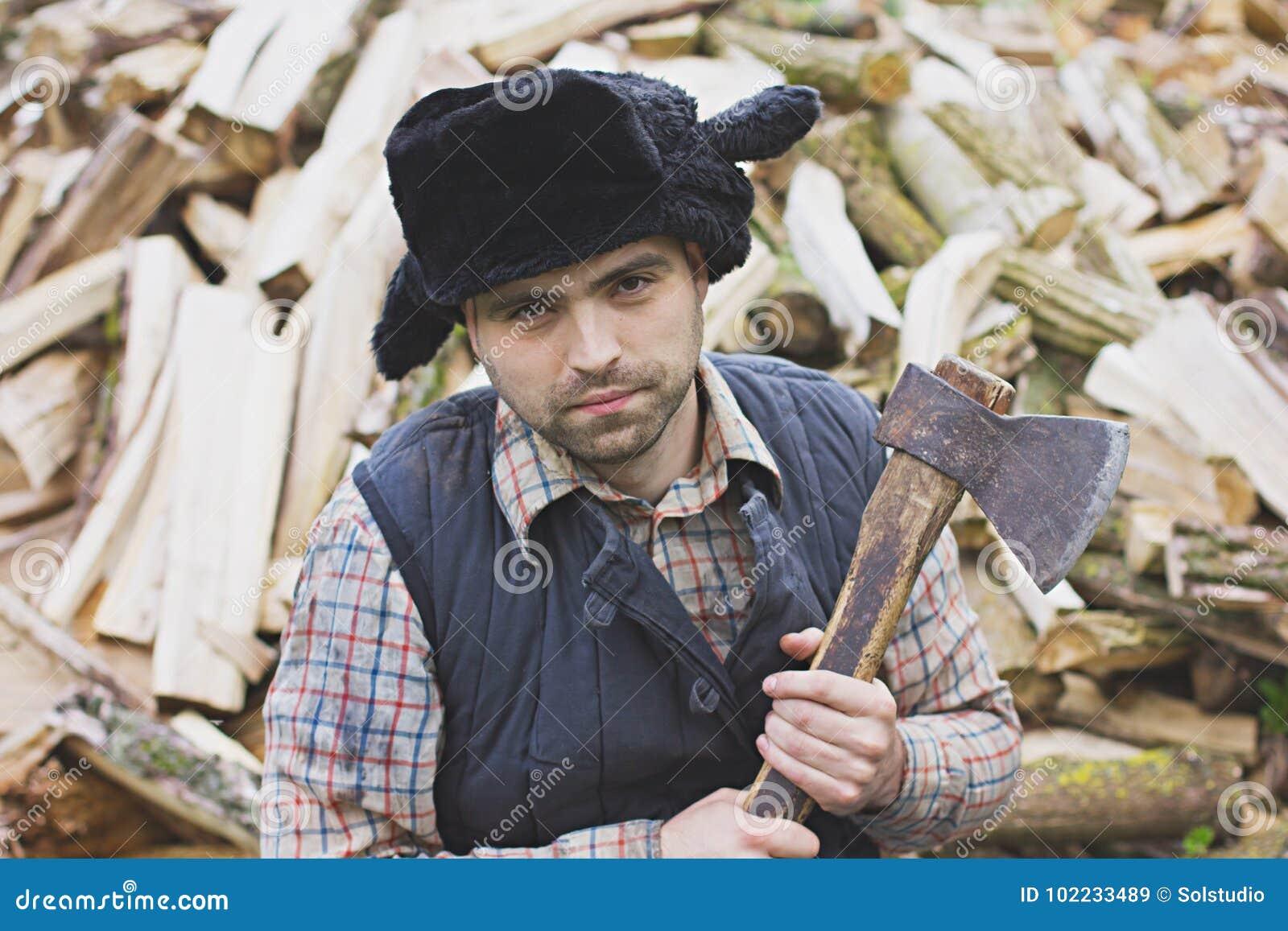 Leñador en el sombrero imagen de archivo. Imagen de sombrero - 102233489 a9665c11a92