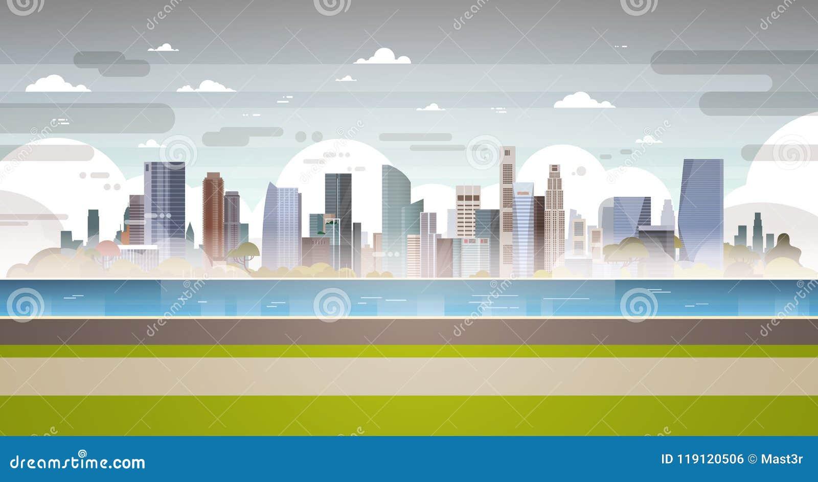 Le acque reflue sporche del tubo della pianta del paesaggio della città di inquinamento atmosferico della natura hanno inquinato