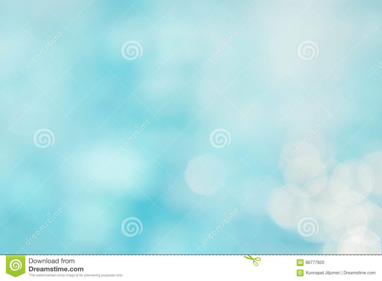 Le backgruond vert-bleu abstrait de tache floue, wallpaper la vague bleue avec s