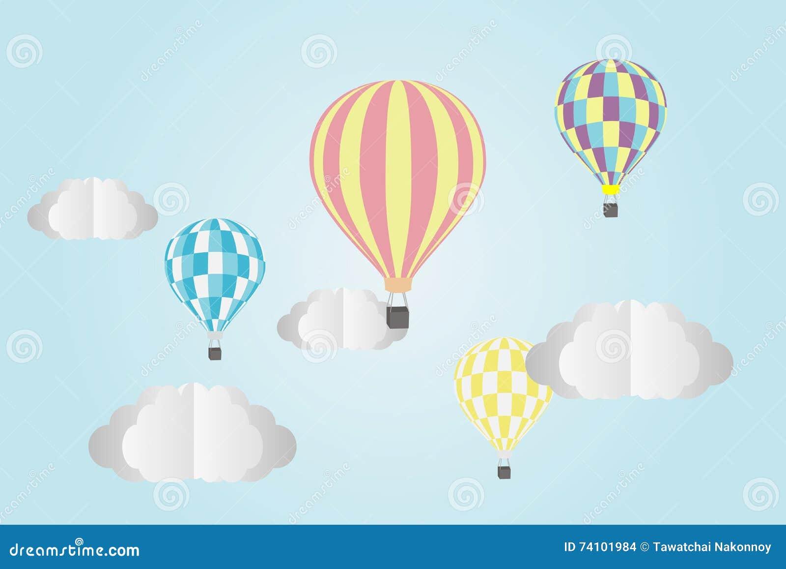 Le ballon à air chaud photgrphed chez le Bealton, fête aérienne de cirque de vol de VA