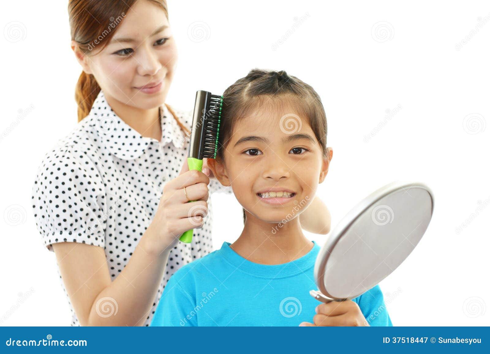 Le barnet med modern