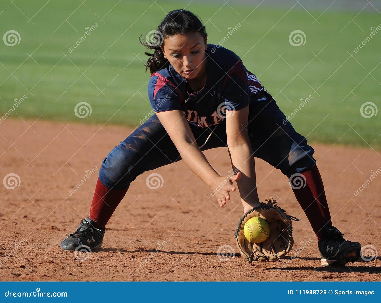 Le base-ball de lycée de filles