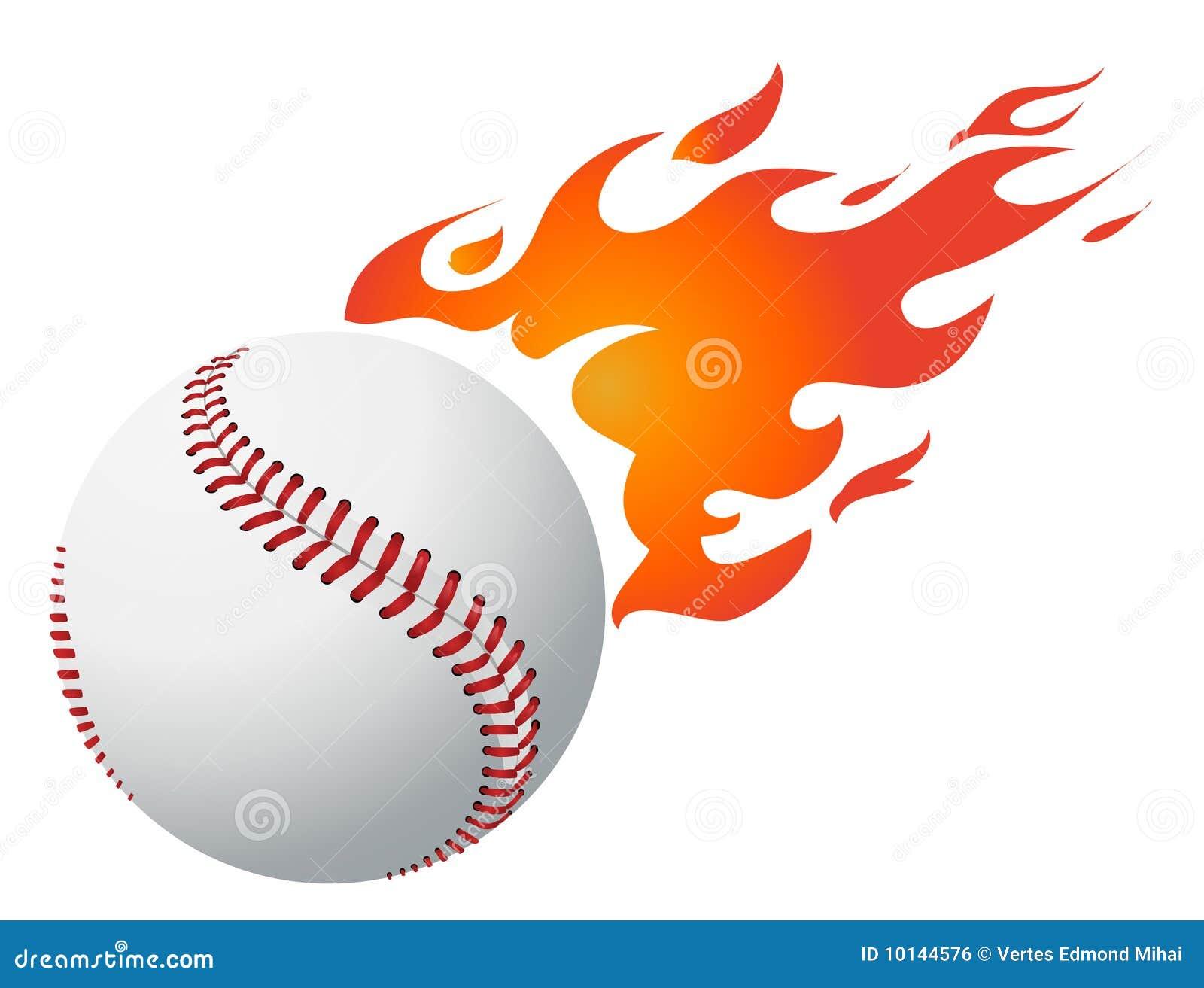 Le base-ball flambe le vecteur