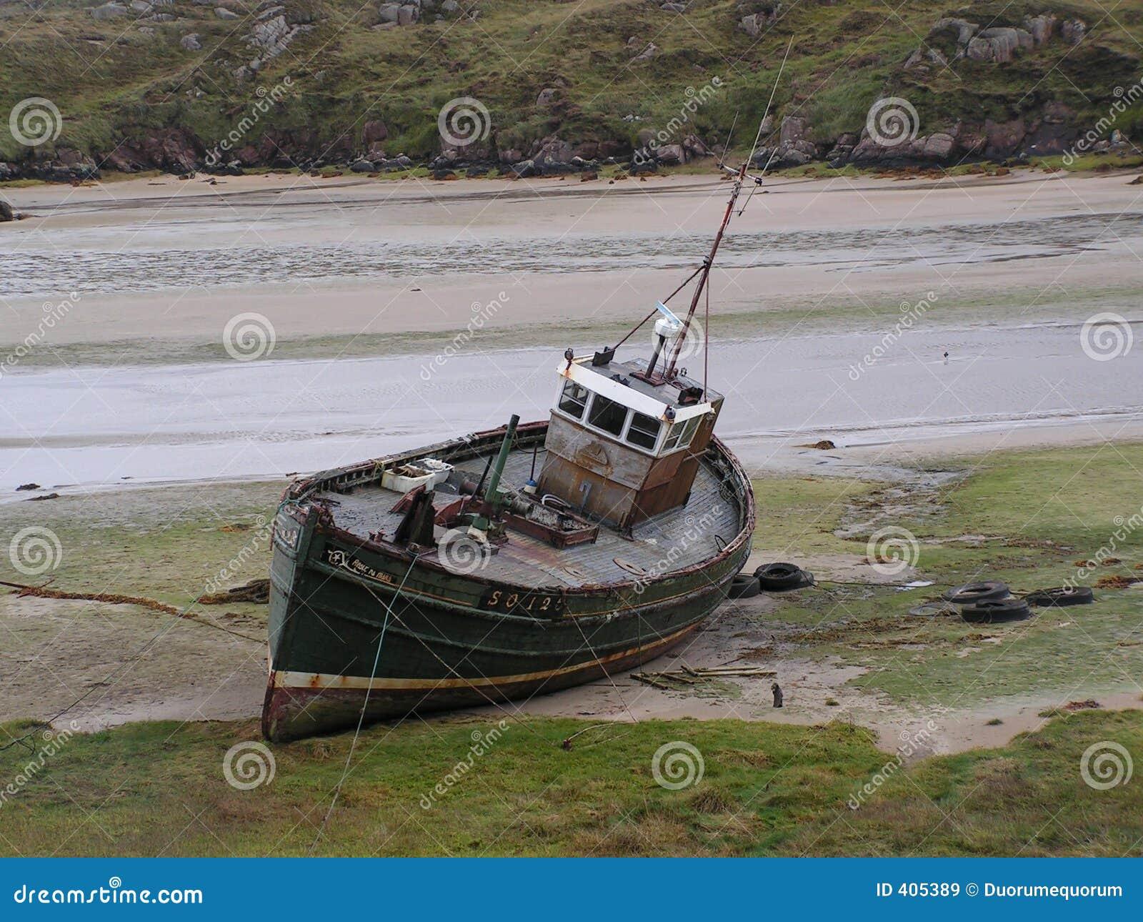 Le bateau d ordinateur de secours