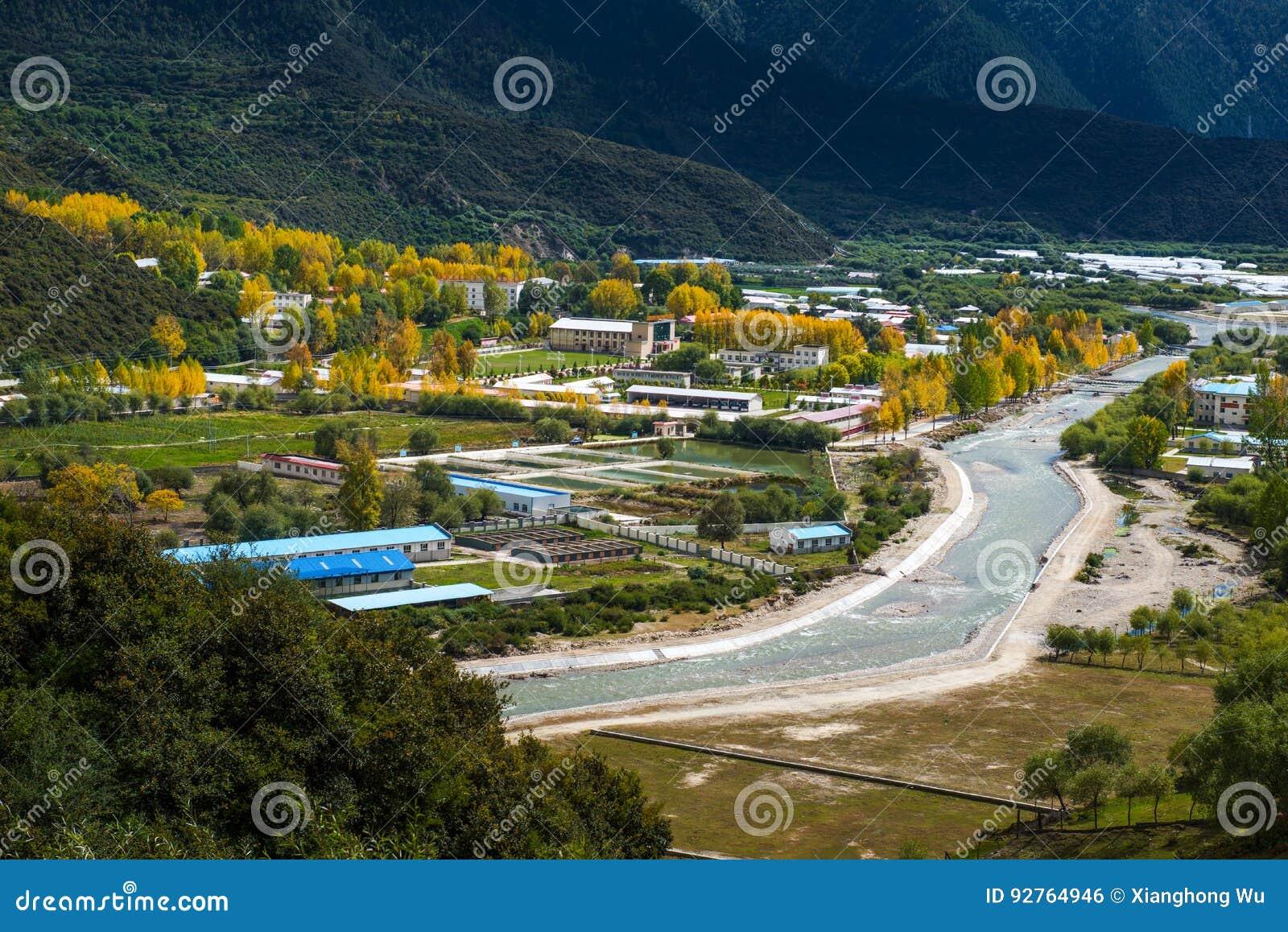Le beau paysage : Déplacement au Thibet