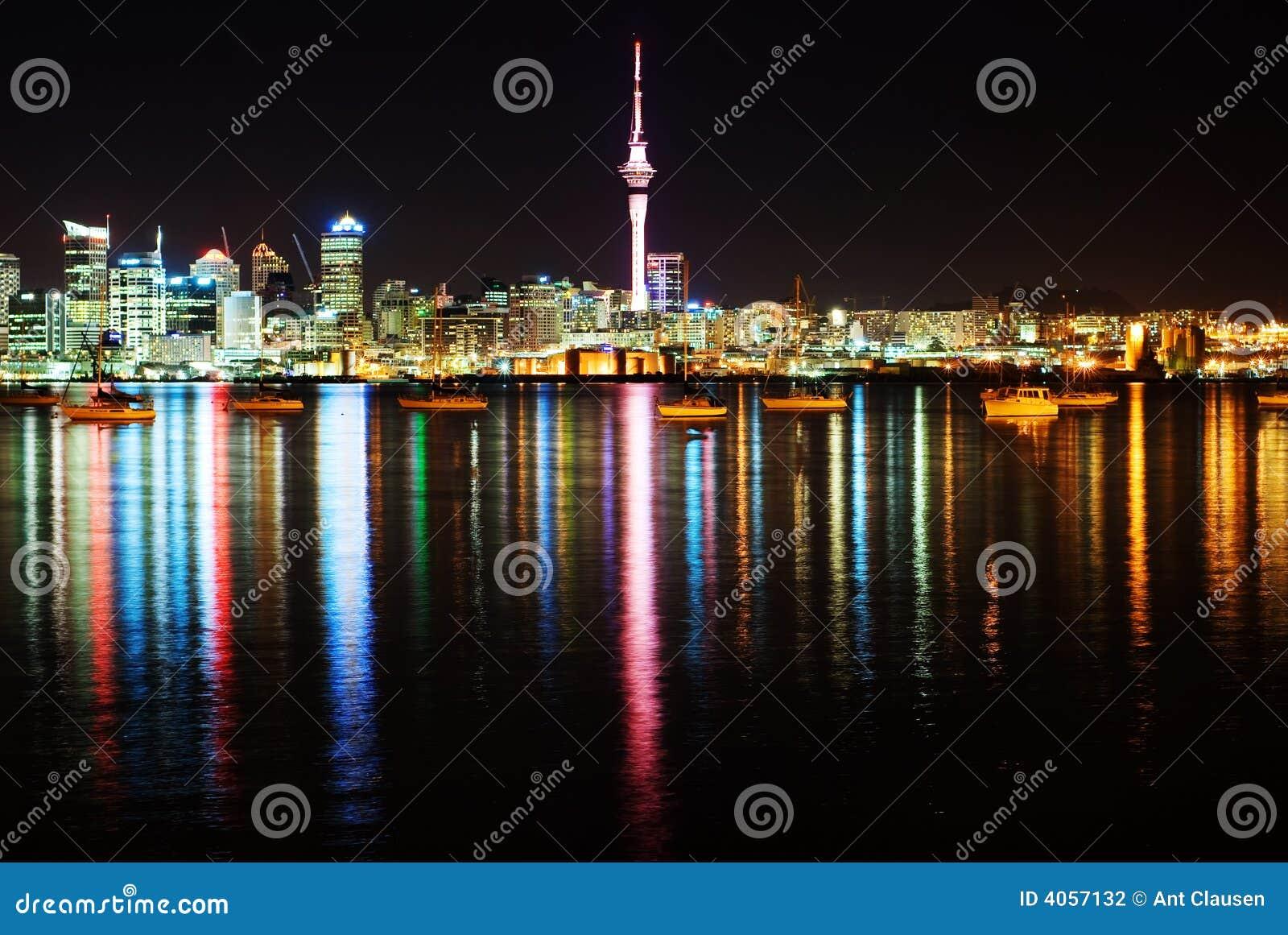 Le bel horizon d Auckland