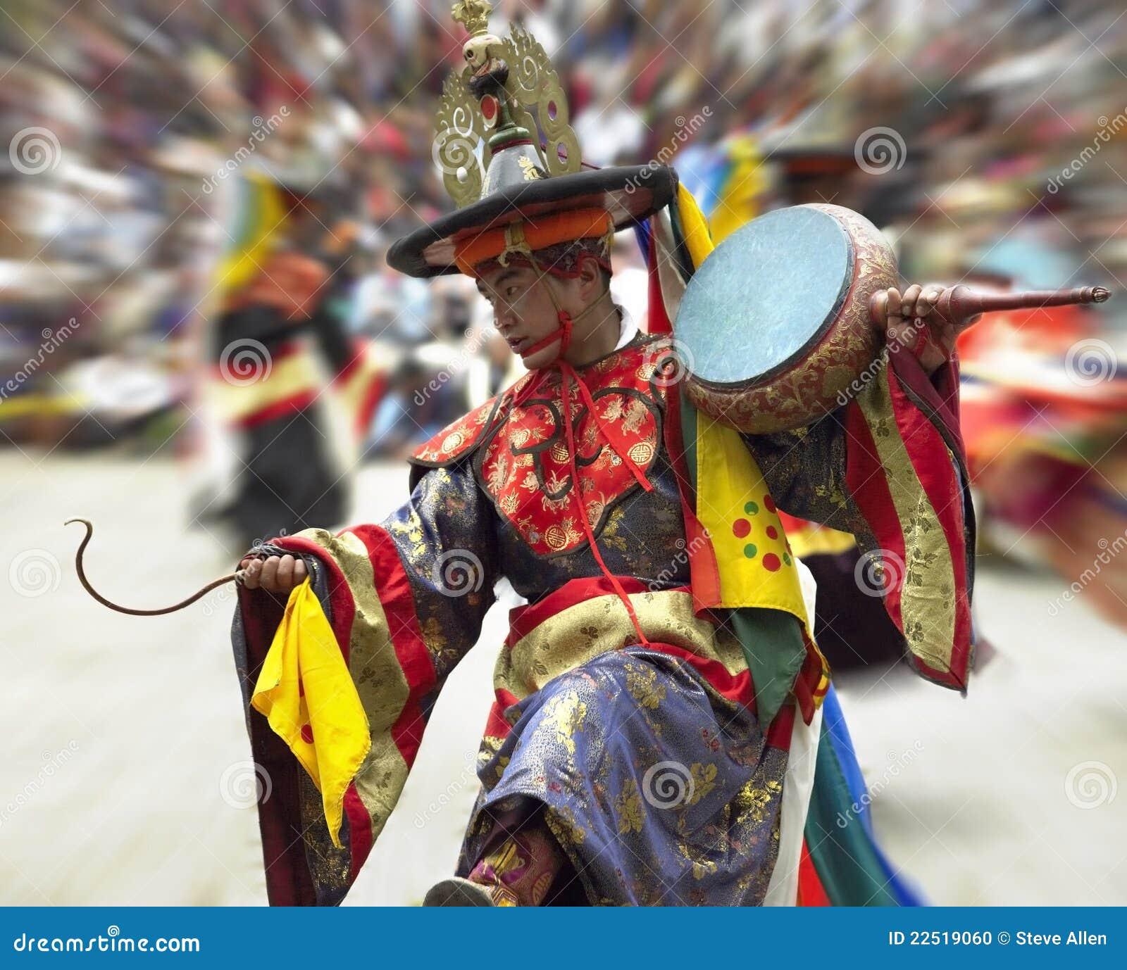 Le Bhutan - le Paro Tsechu