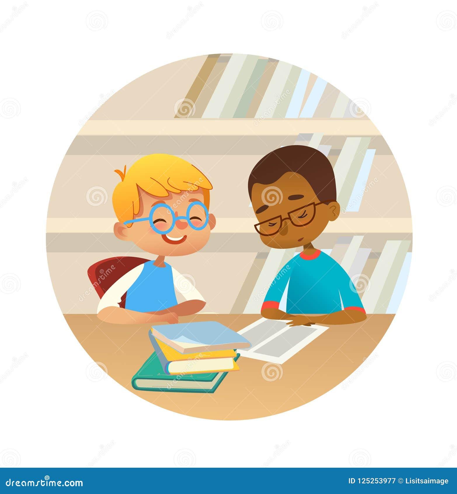 Le blandras- pojkeläseböcker och tala till varandra på skolaarkivet Skolaungar som in diskuterar litteratur