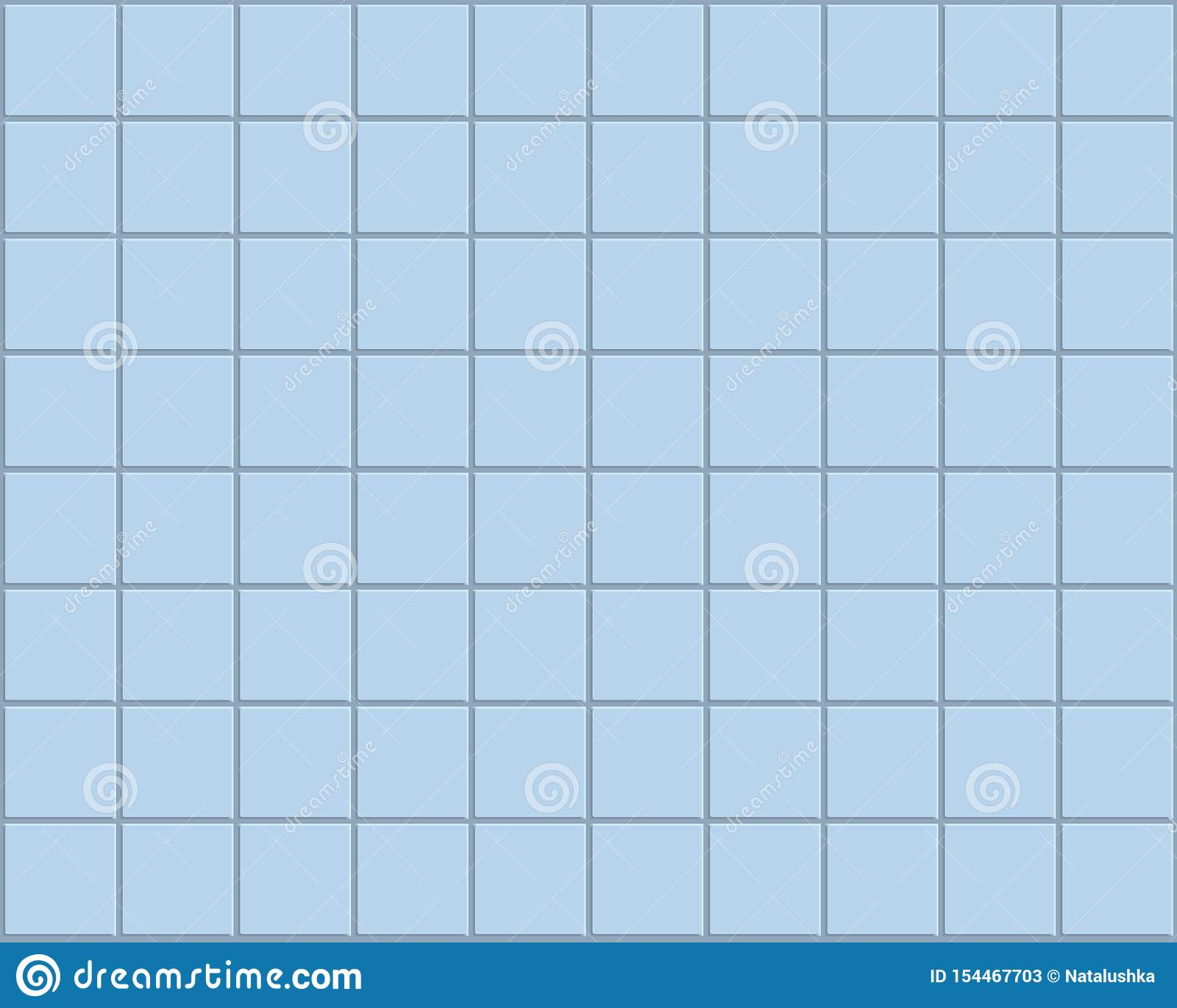 Le bleu couvre de tuiles le fond