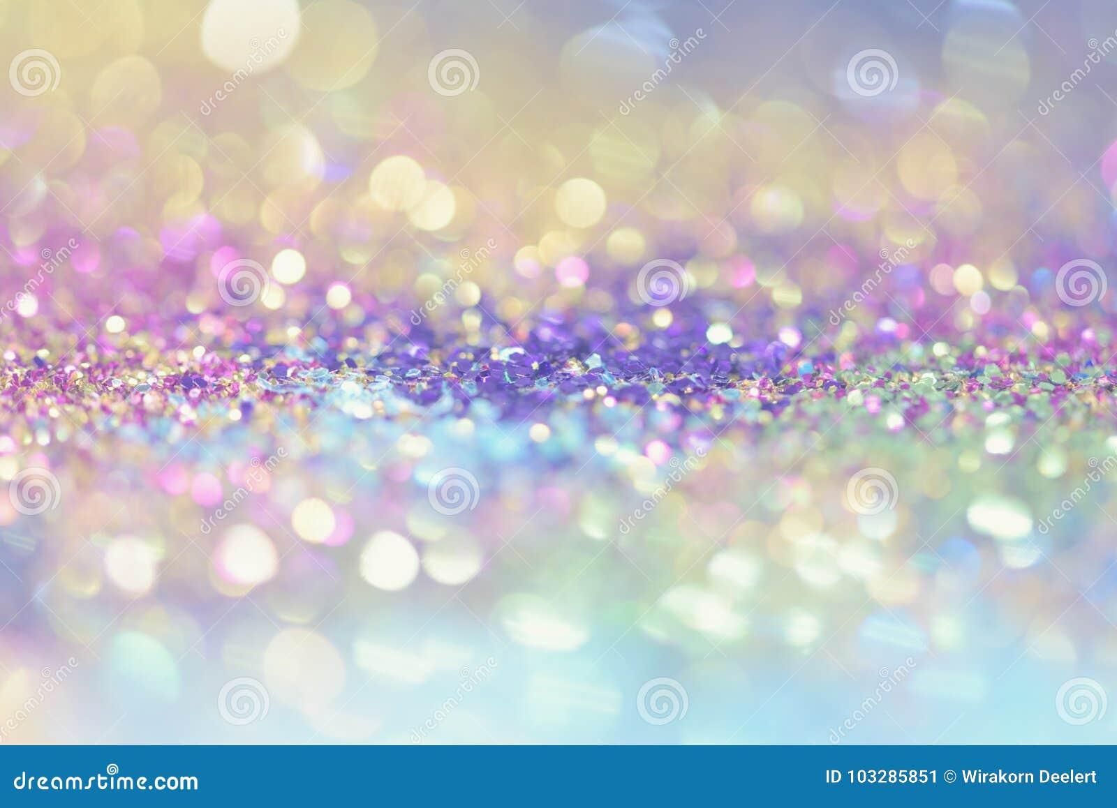 Le bokeh Colorfull a brouillé le fond abstrait pour l anniversaire, l anniversaire, le mariage, la soirée du Nouveau an ou le Noë