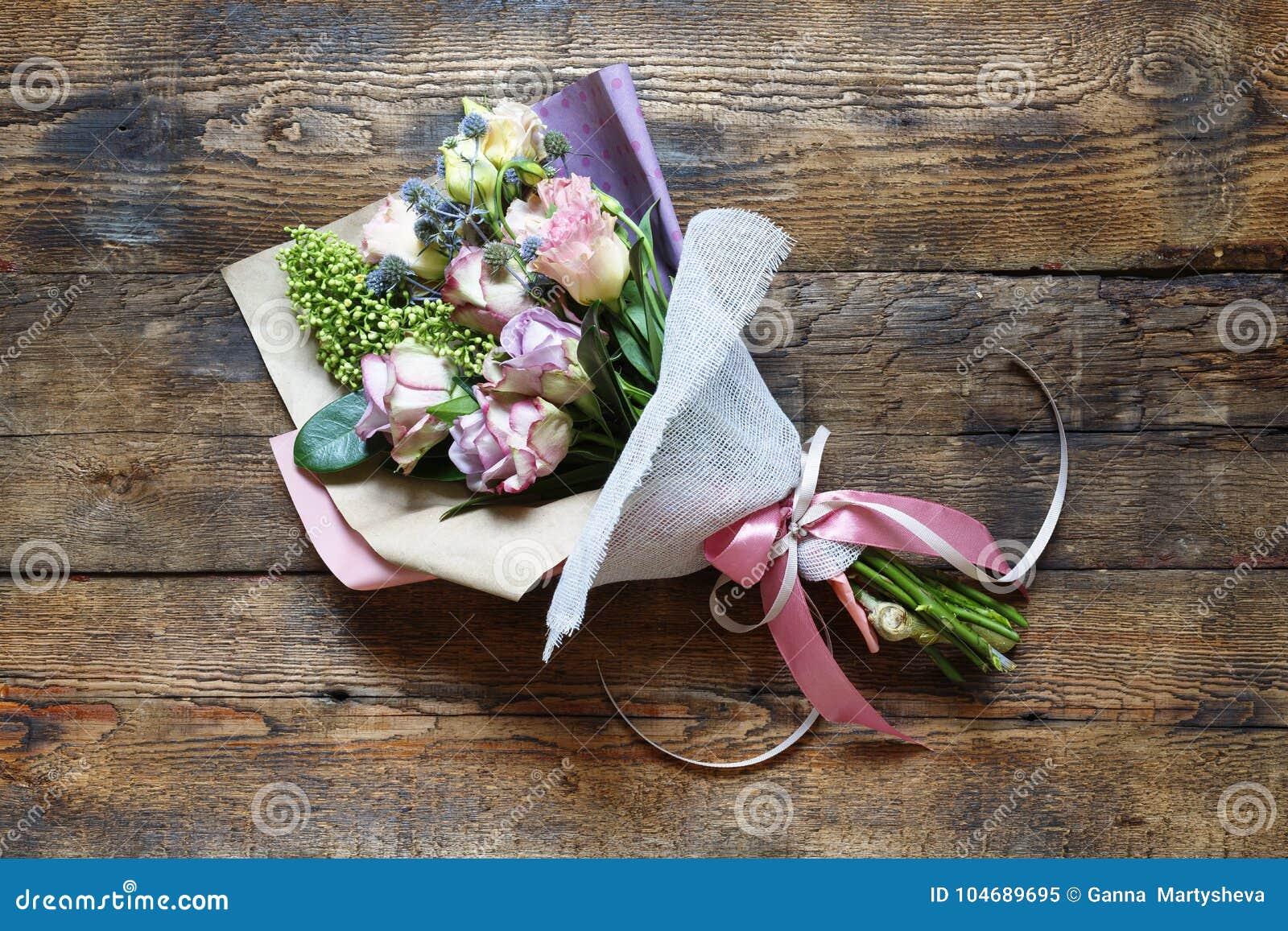 Le Bouquet Du S De Jeune Mariée Ou Une Date Jour Du S De