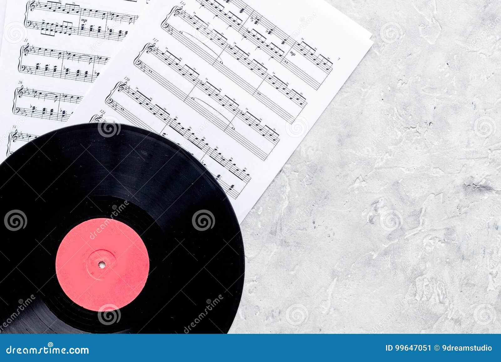 Le bureau du musicien pour l ensemble de travail de compositeur