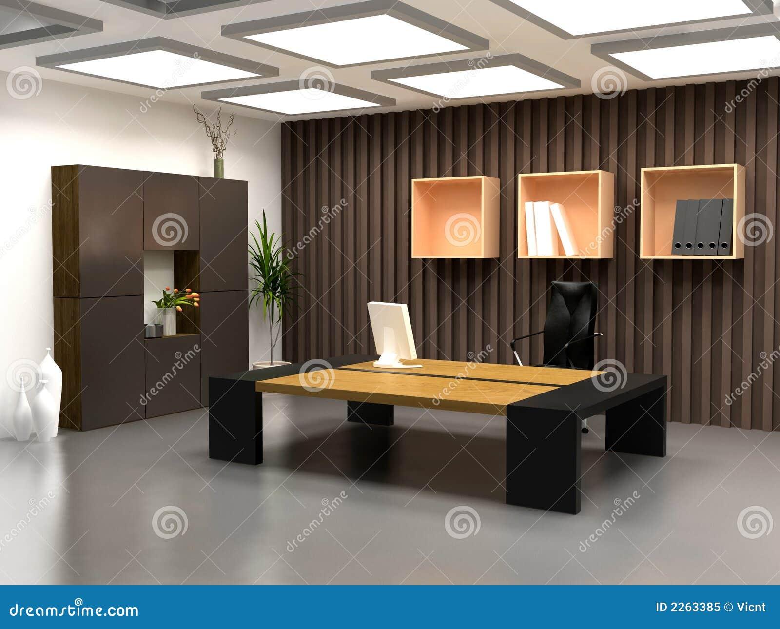 Le bureau moderne photo libre de droits image 2263385 for Le bureau moderne