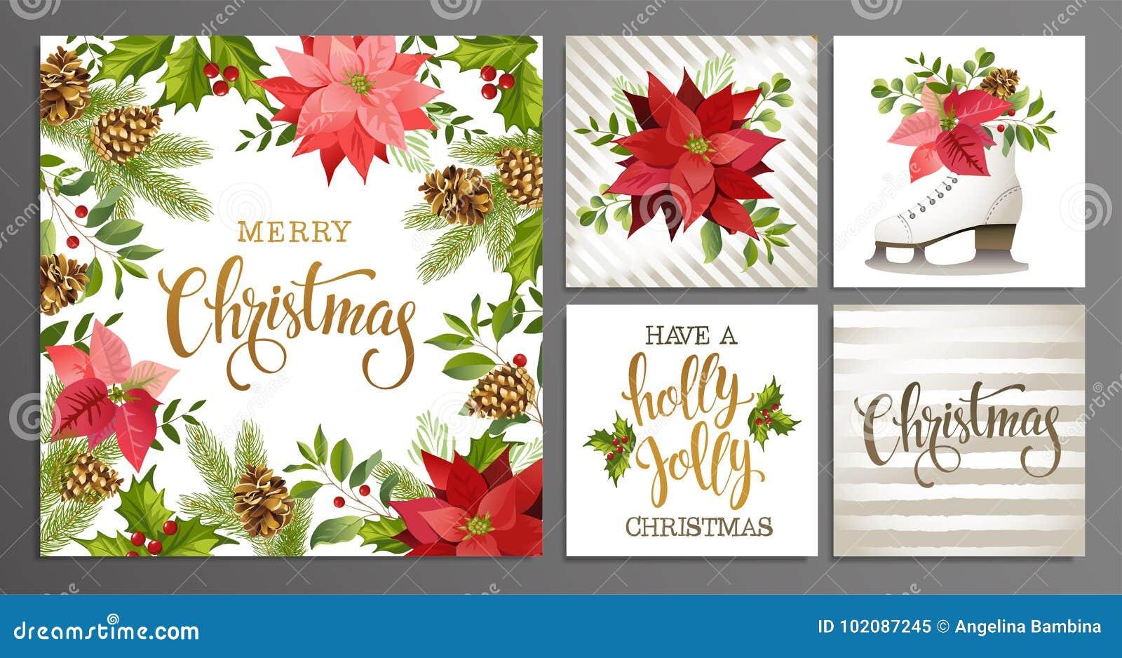Le calibre de Joyeux Noël a placé pour l album de salutation, félicitations, invitations, bannière, autocollants, cartes postales