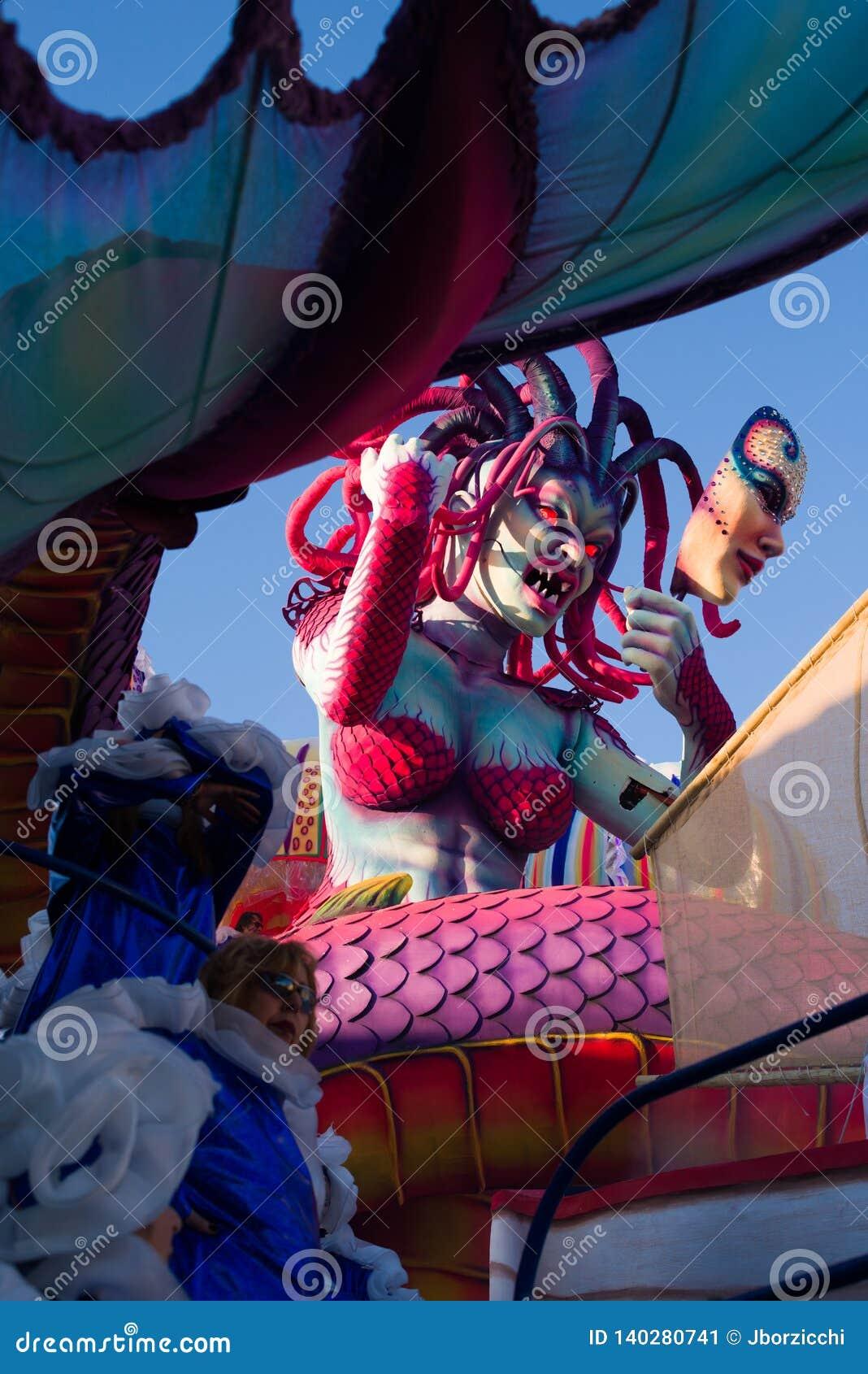 Le carnaval de Viareggio, édition 2019