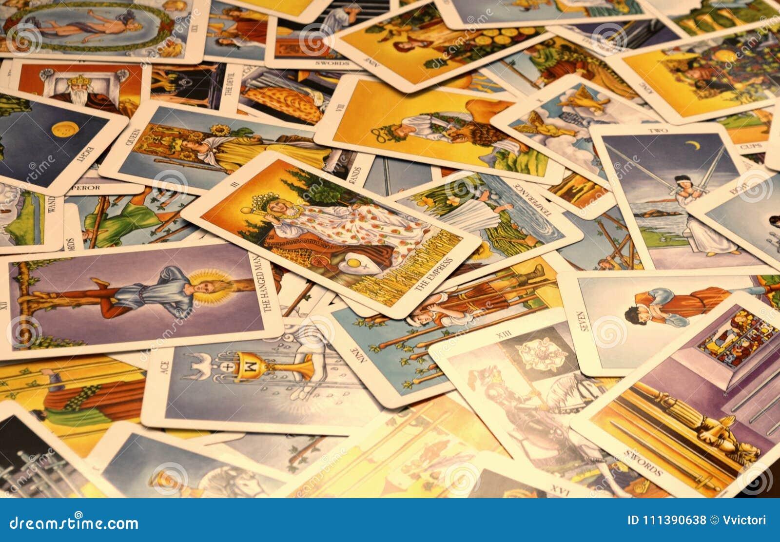 Le carte di tarocchi 78 carda l imperatrice
