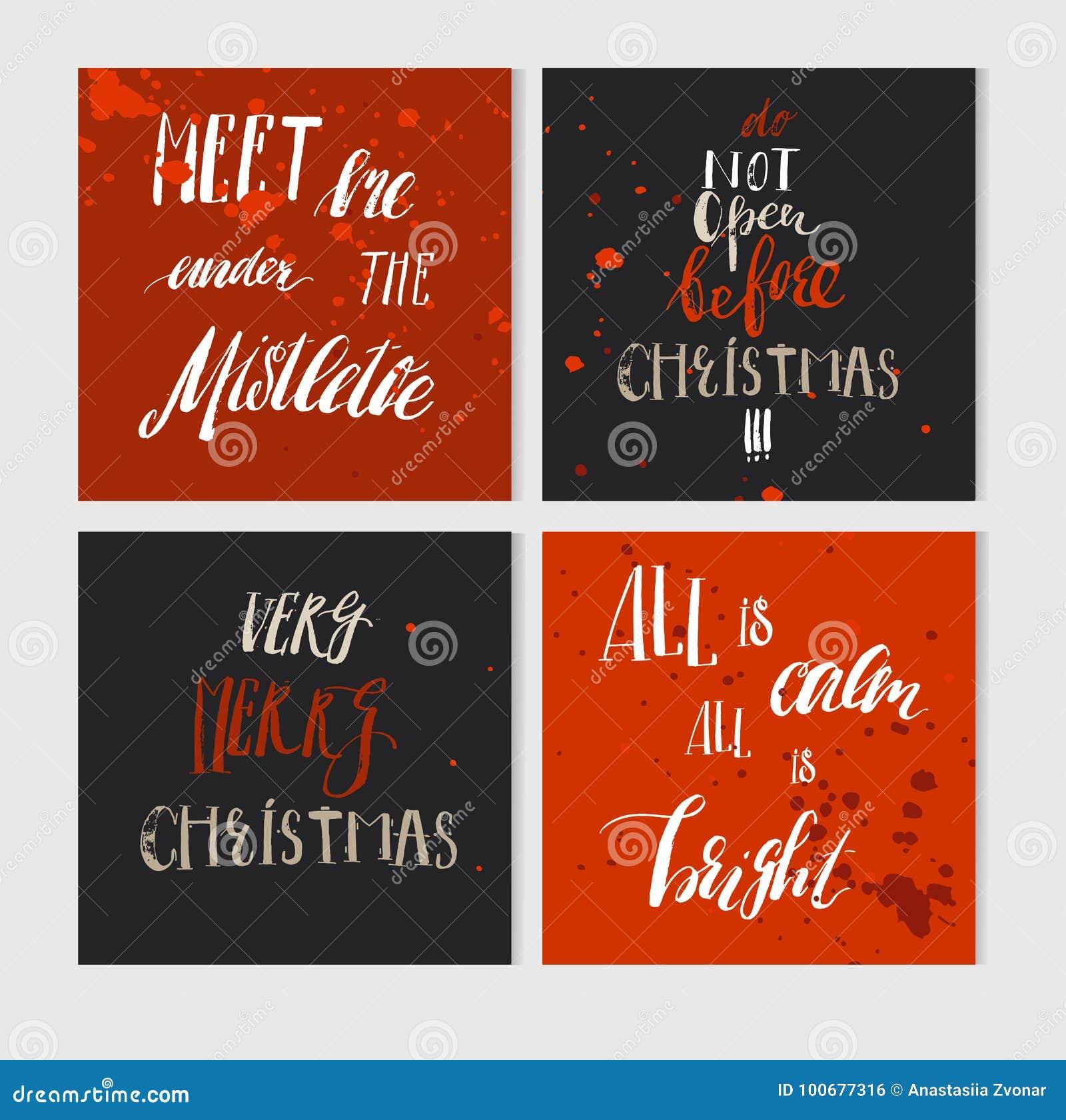 Immagini Con Scritte Di Buon Natale.Le Cartoline D Auguri Fatte A Mano Di Buon Natale Dell