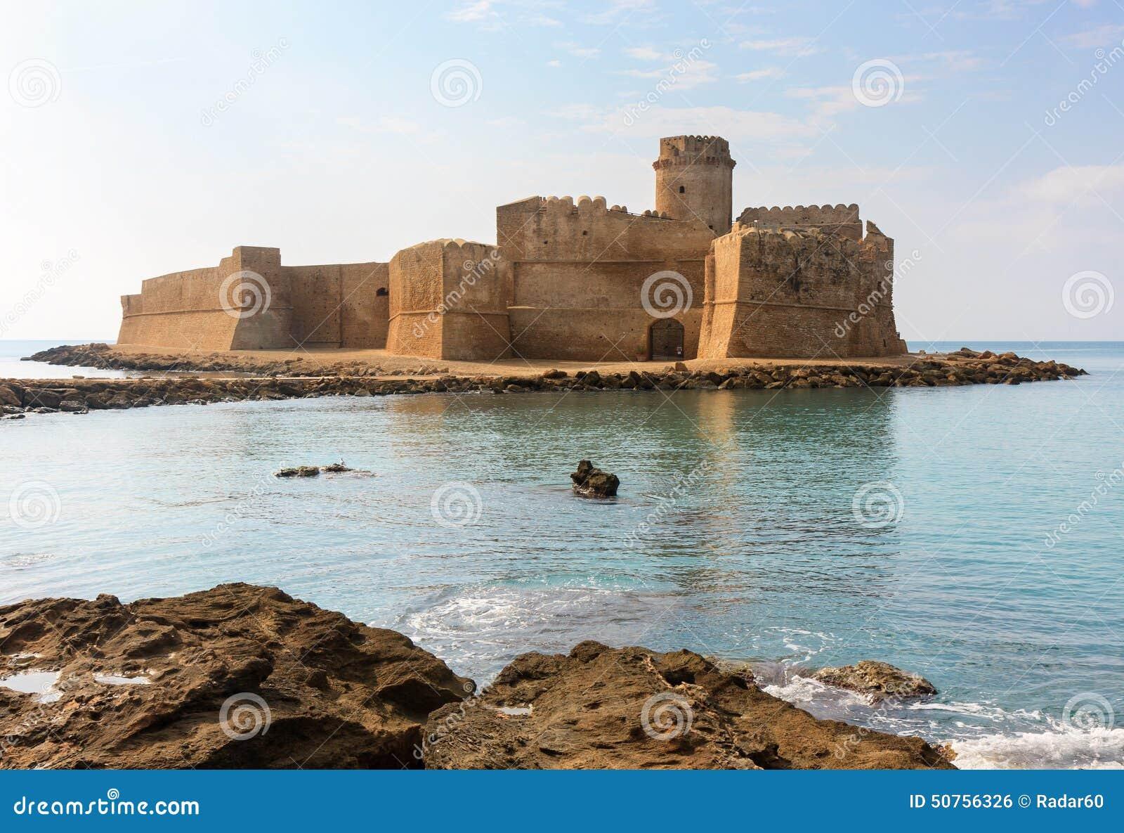 Le Castella, Calabria, Italien