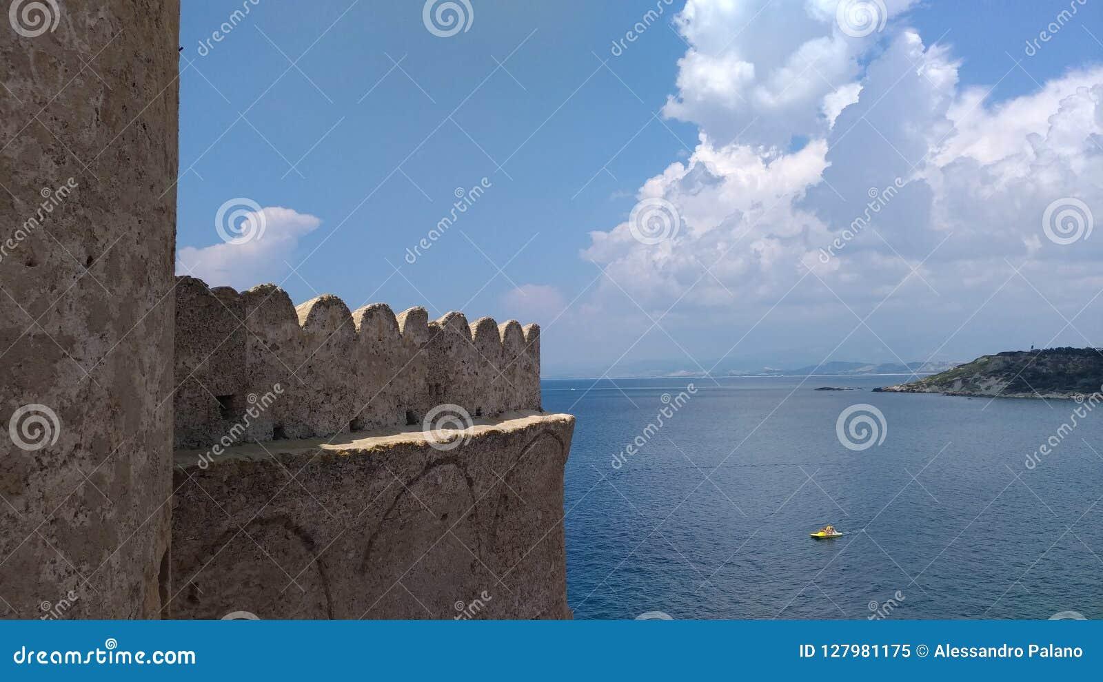 Le Castella - panorâmico