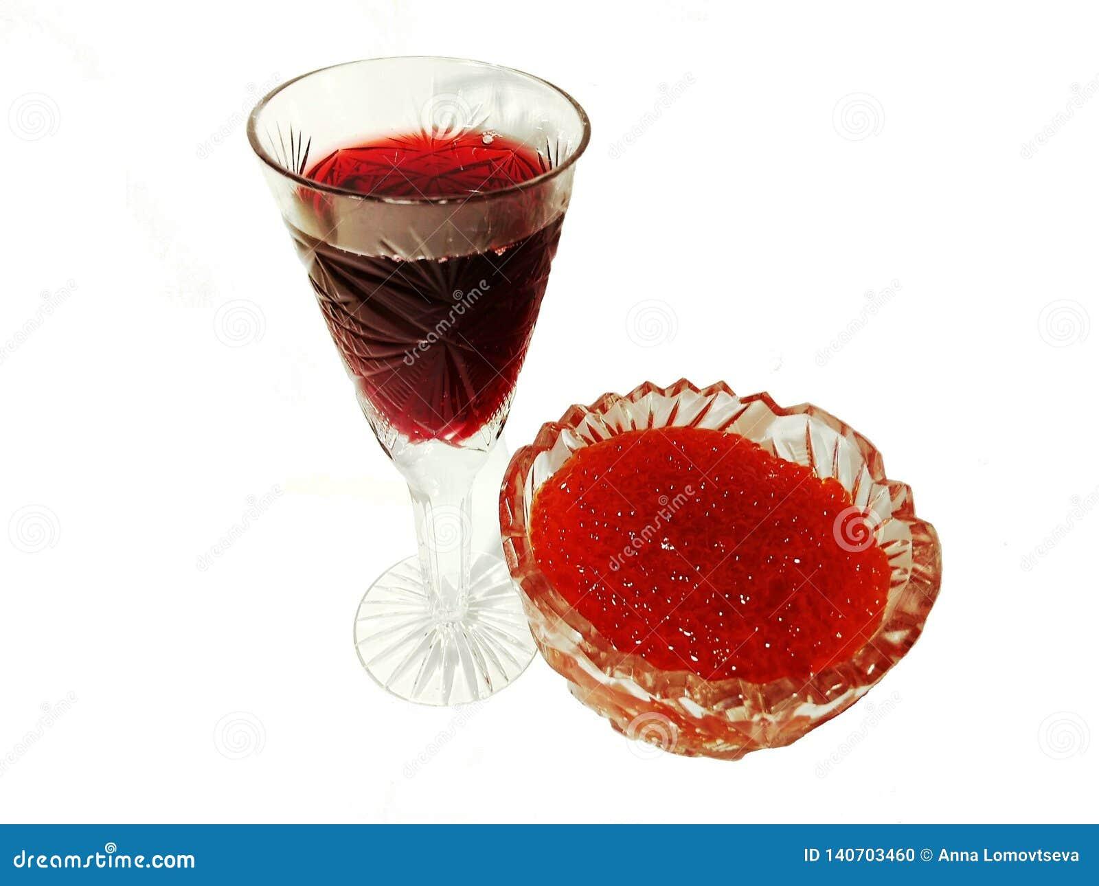 Le caviar rouge avec sont rouge