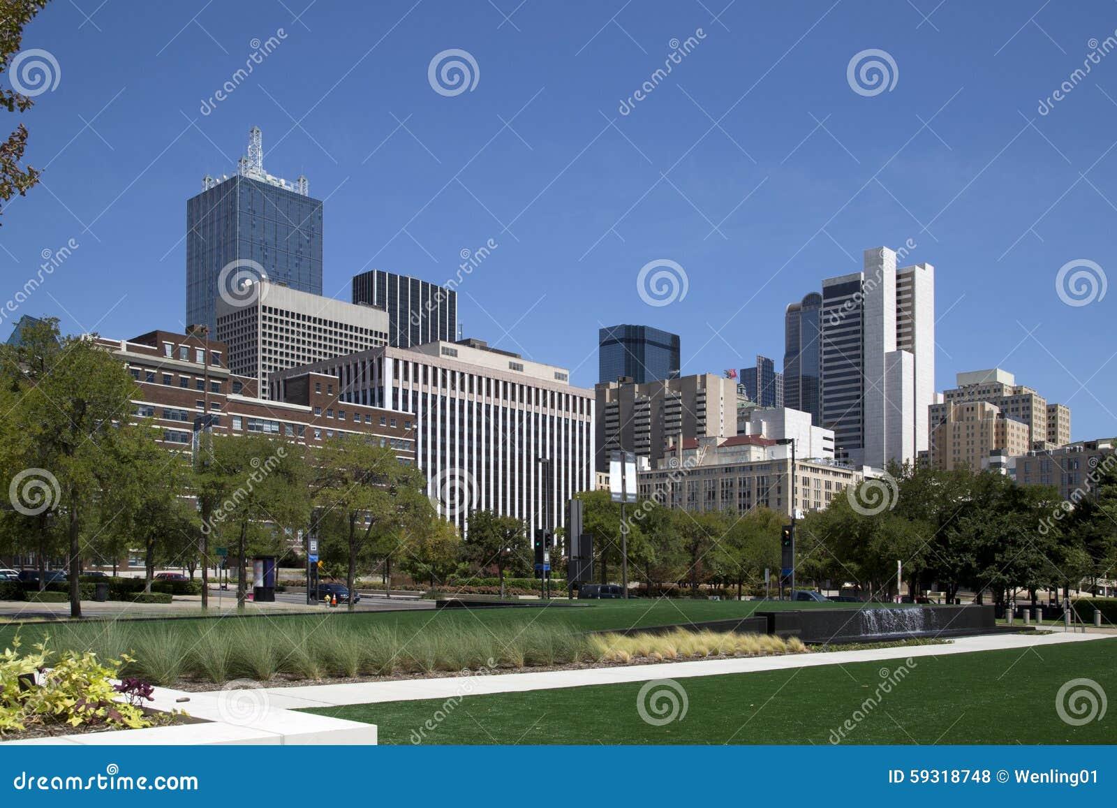 Le centre ville de l ville Dallas