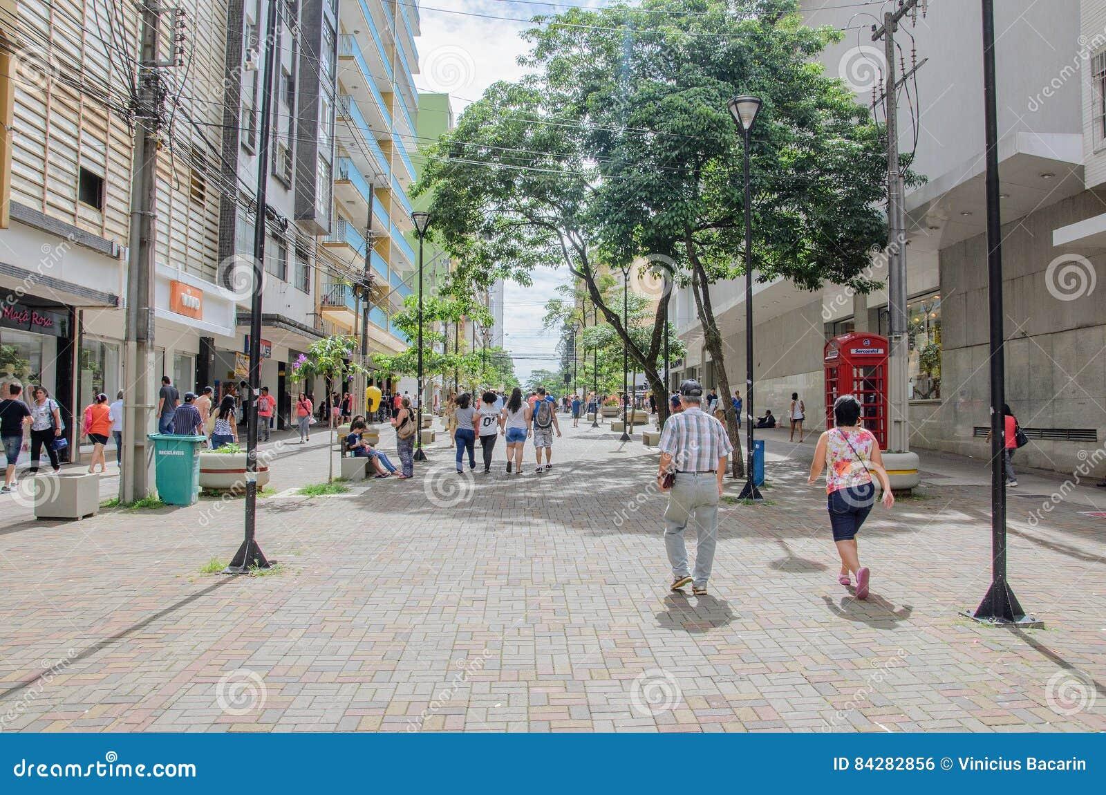 Le centre ville de Londrina