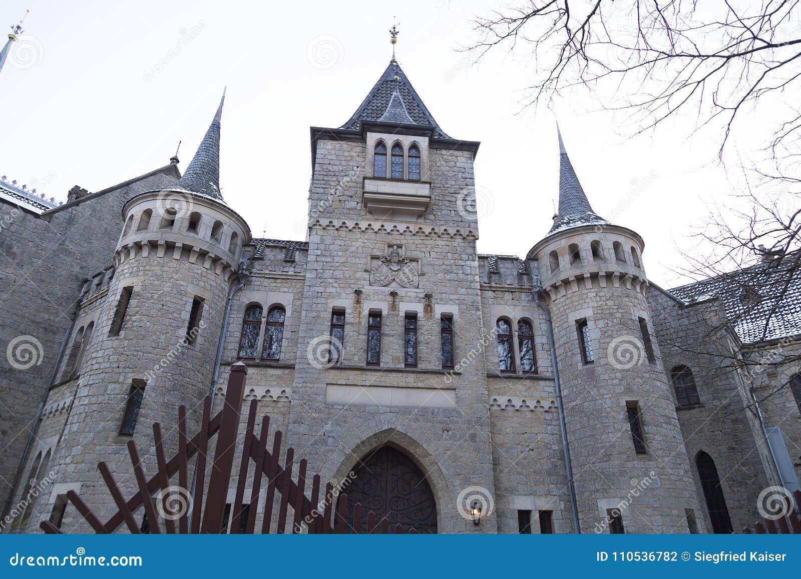 Le château antique de Marienburg près de Hanovre, Allemagne