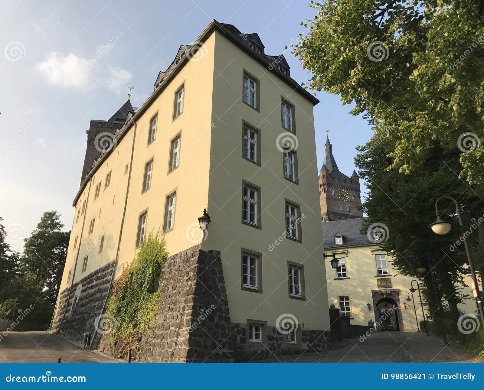 Le château de Schwanenburg dans Kleve Allemagne