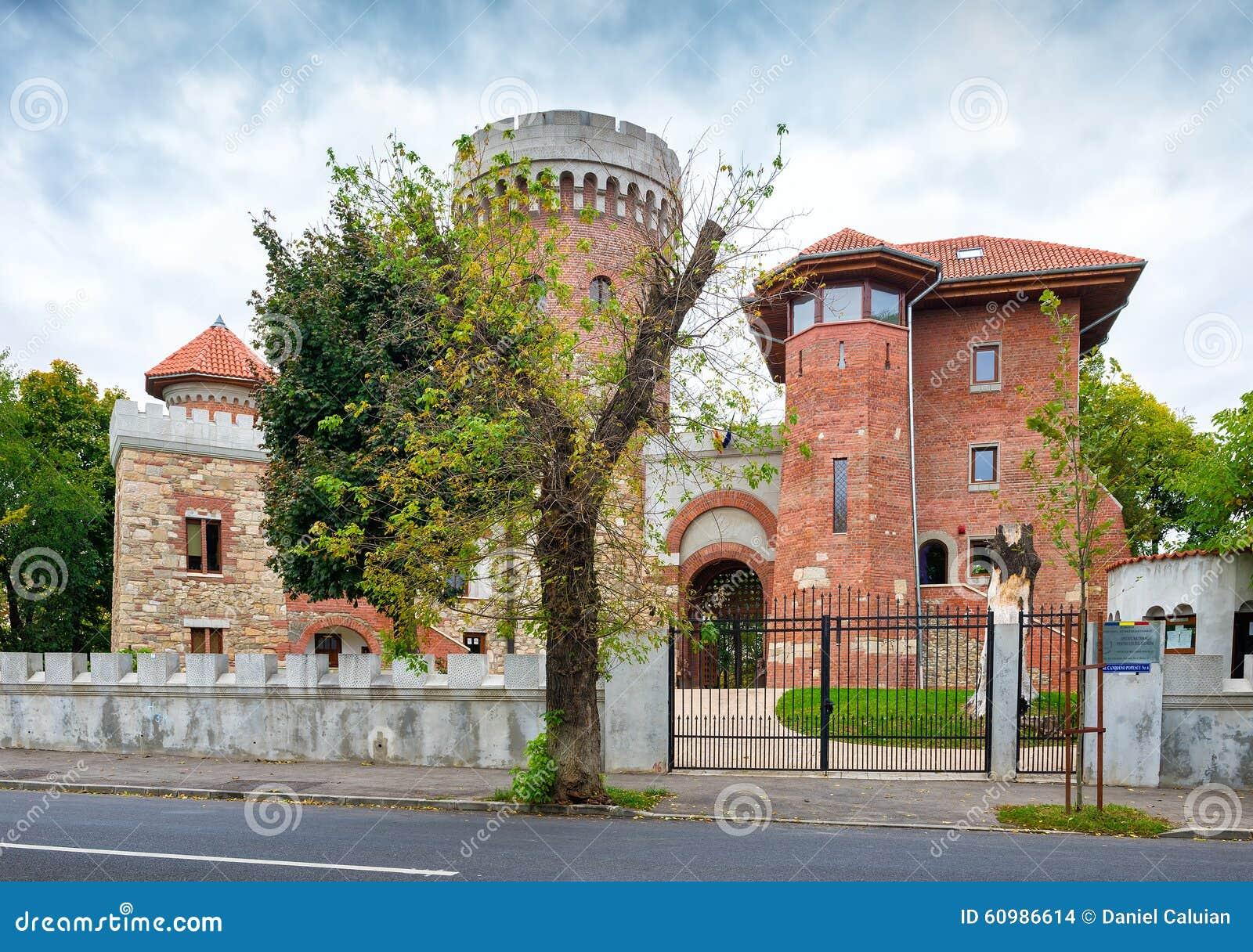 Le château de Vlad l Impaler à Bucarest dans Carol Park a