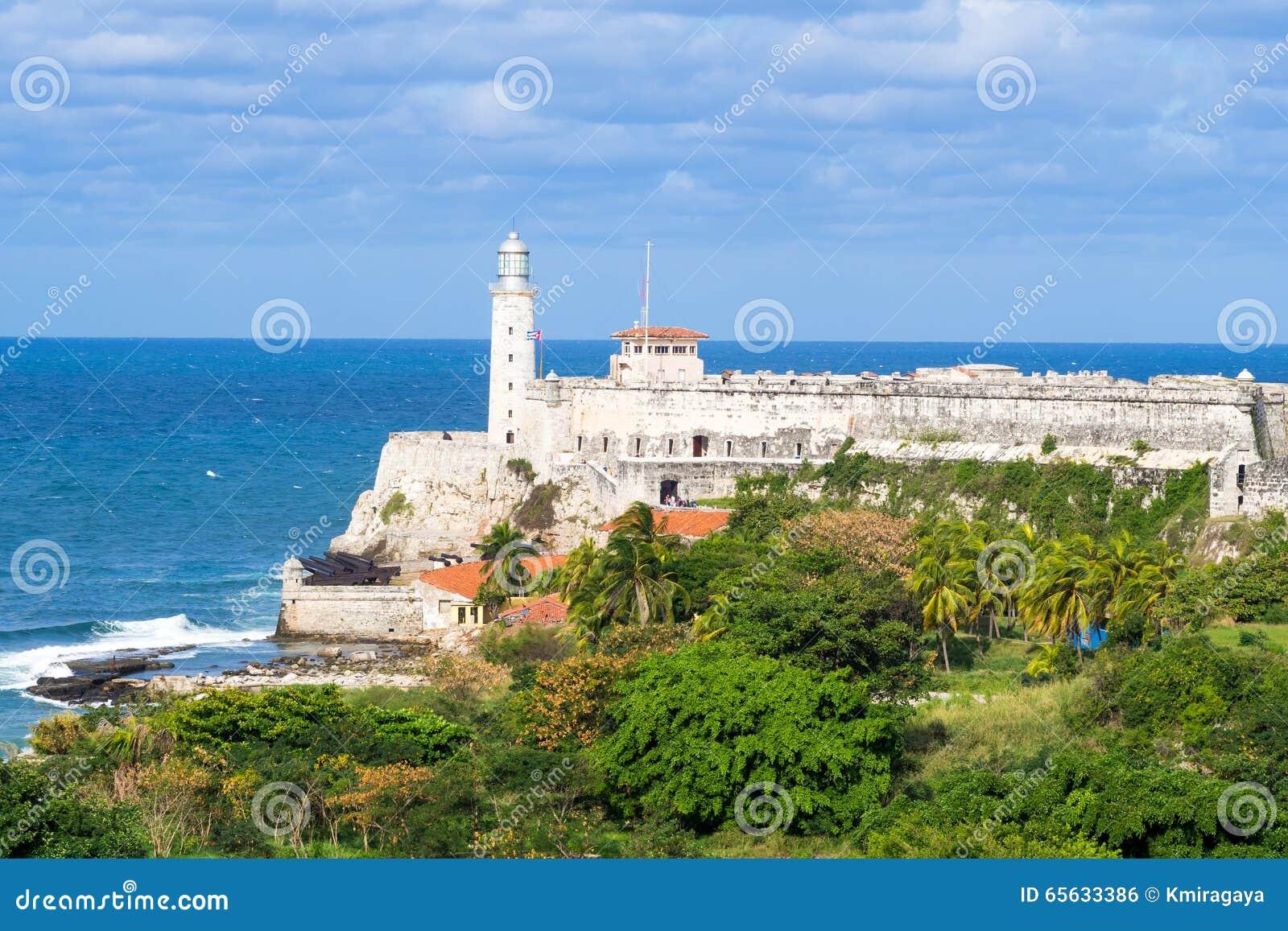 Le château et le phare de l EL Morro à La Havane