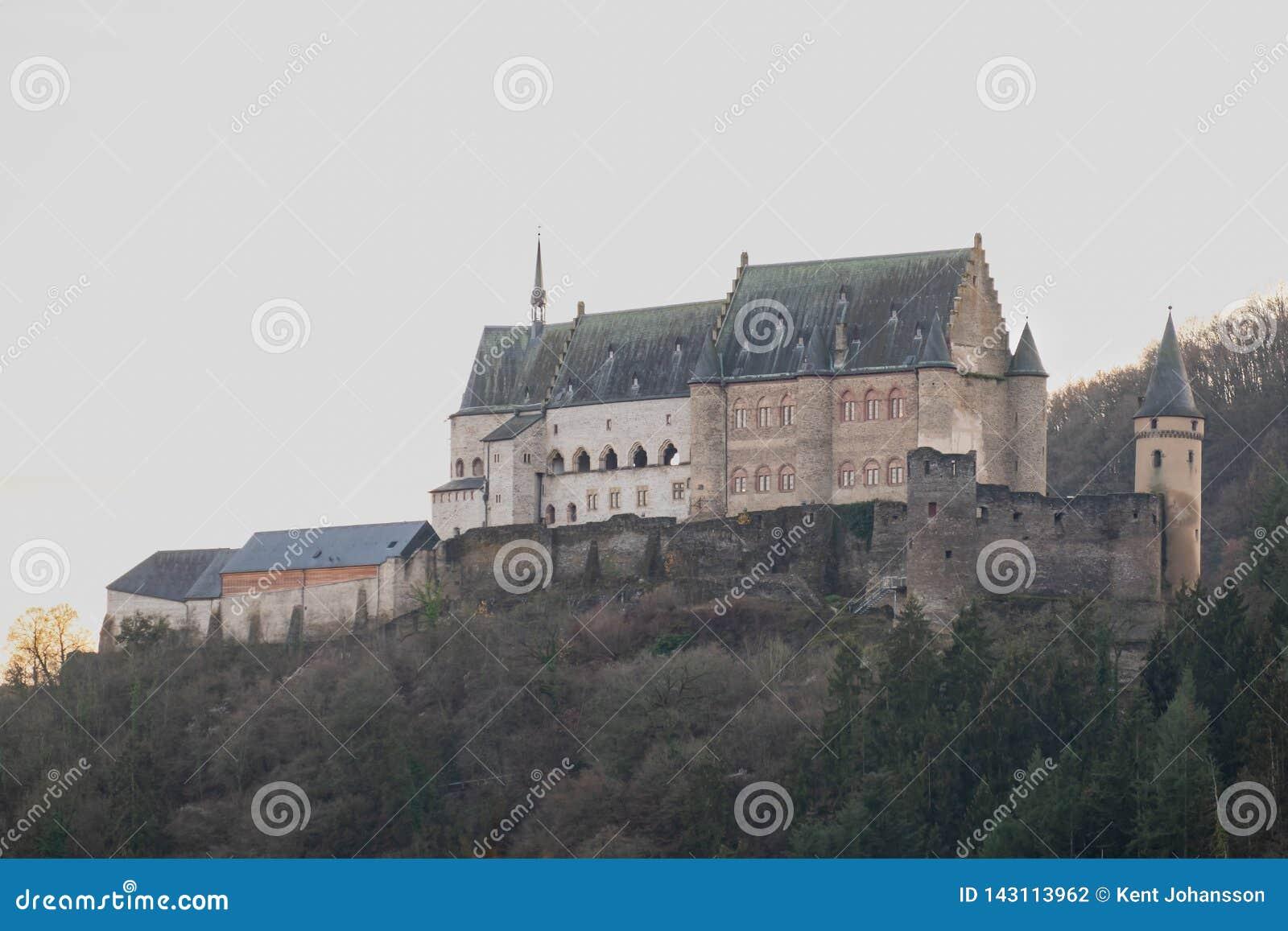 Le château Luxembourg vianden