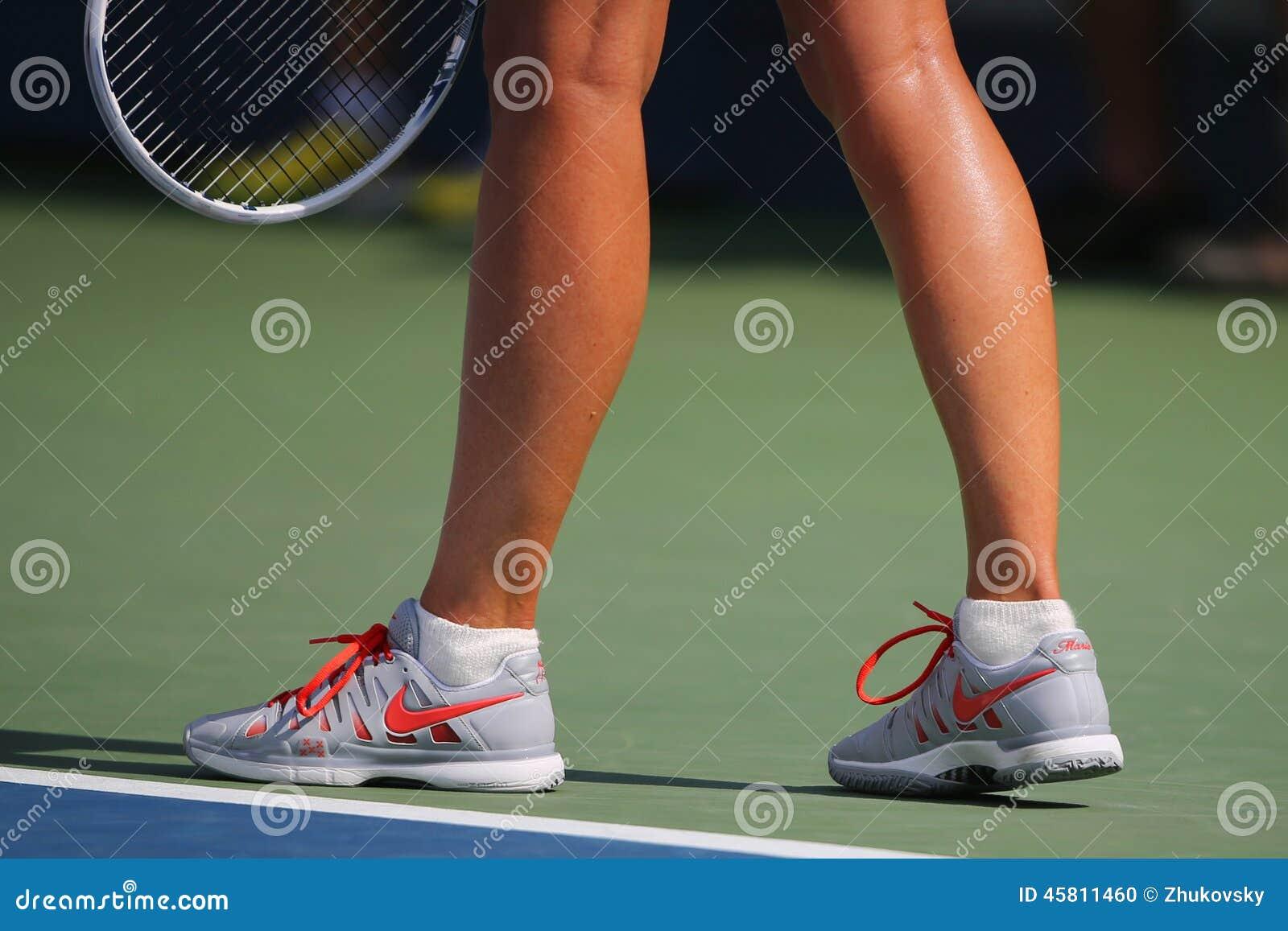 Le Champion Mariya Sharapova De Grand Chelem De Cinq Fois
