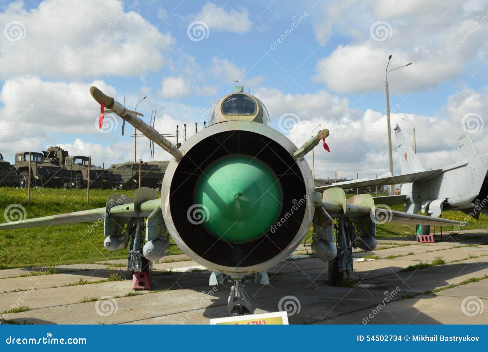 Le chasseur-bombardier Su-17 M