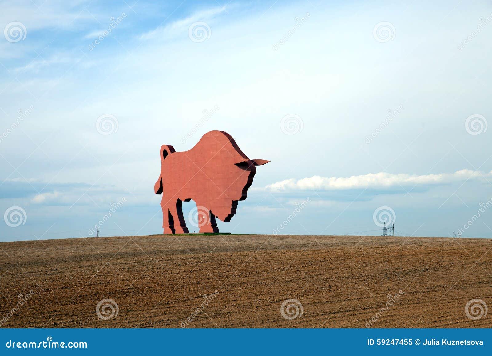 Le chiffre du bison (Zubr) sur l itinéraire de Minsk vers Brest