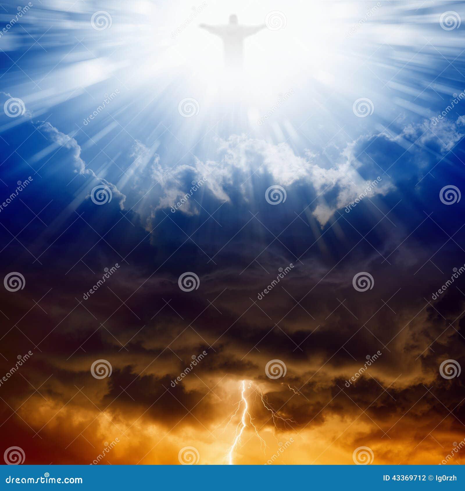 Le Christ, ciel et enfer