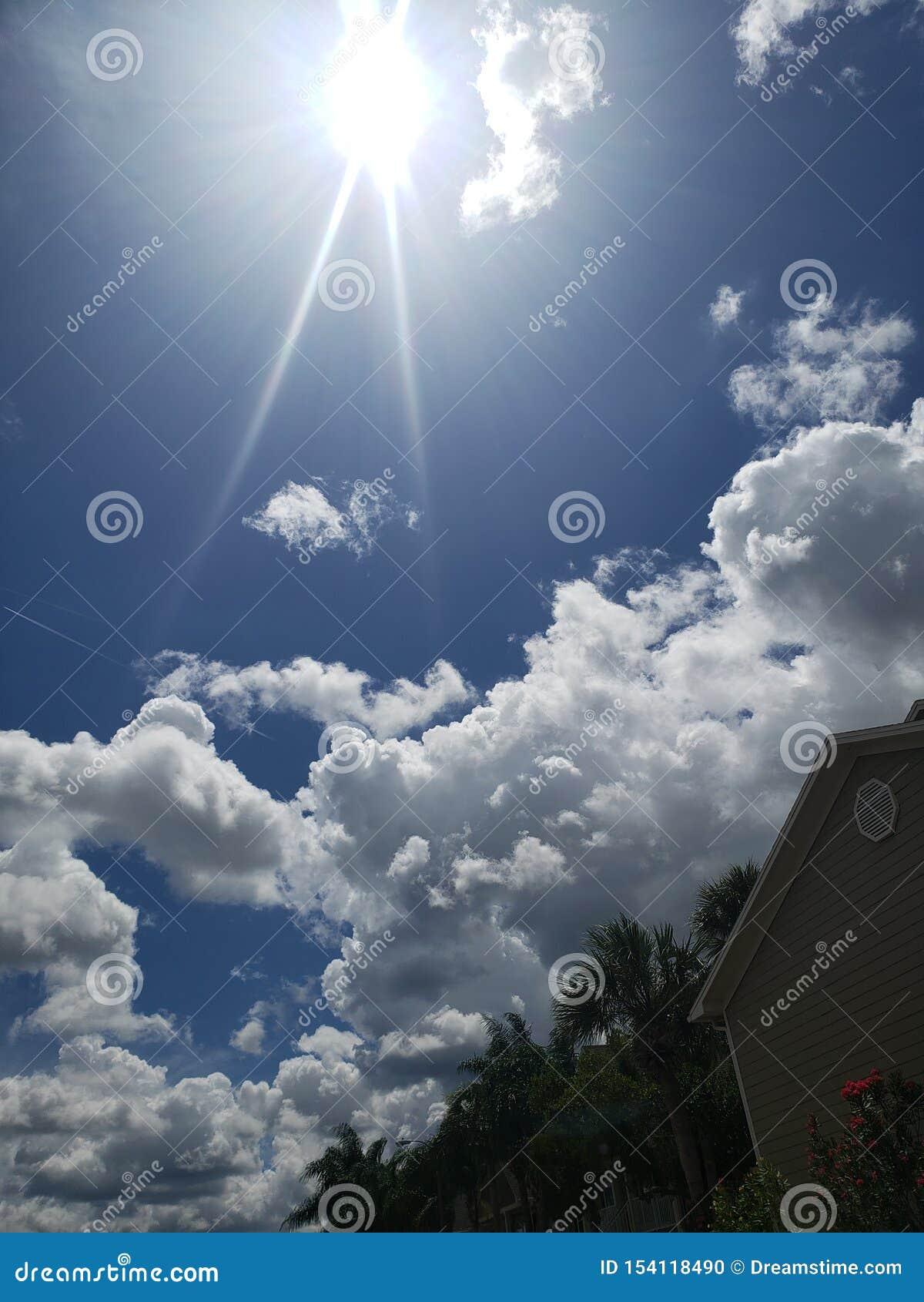 Le ciel et le soleil